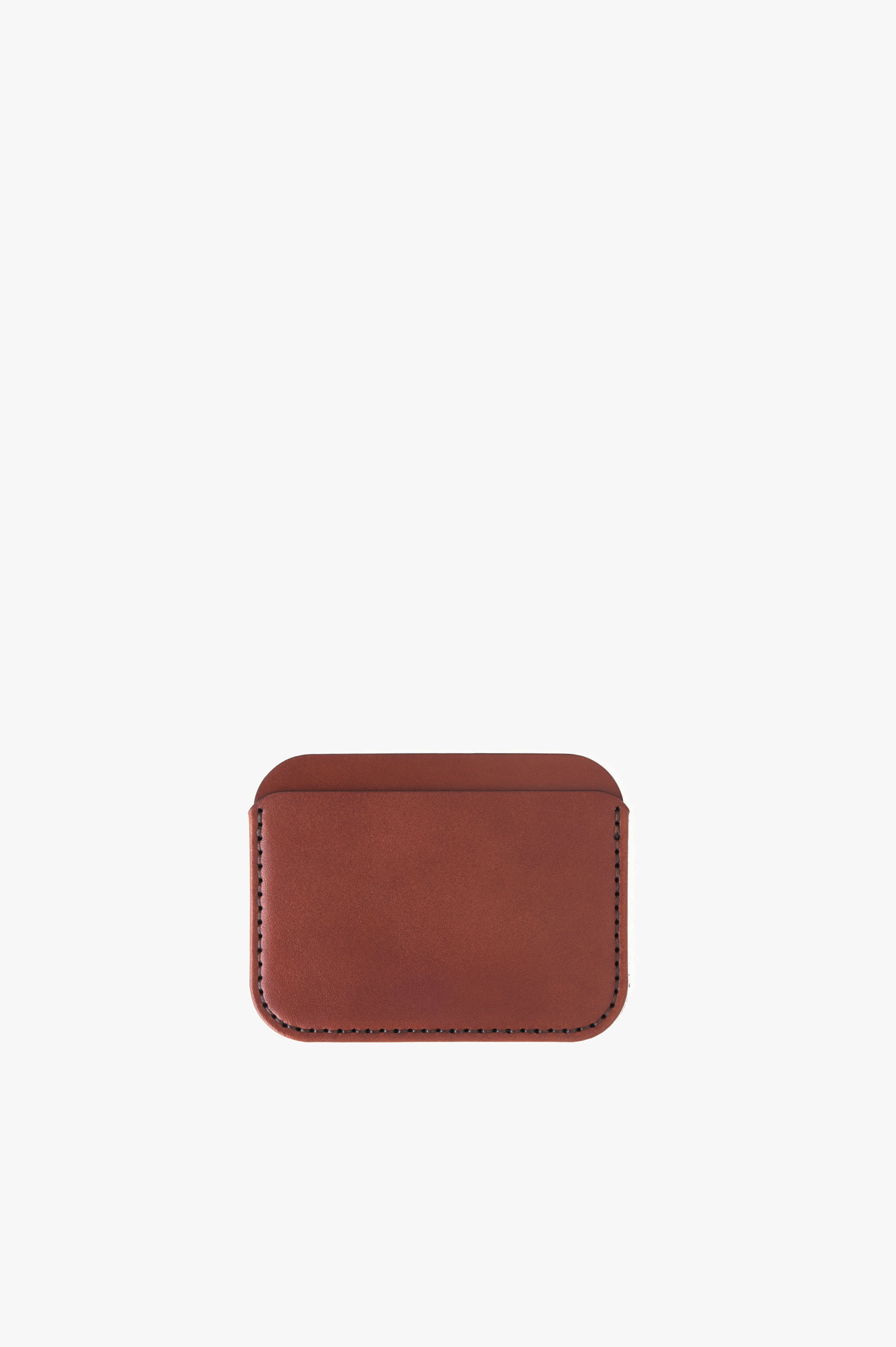 Round Luxe Wallet Madeira Wicket & Craig English Bridle Leather