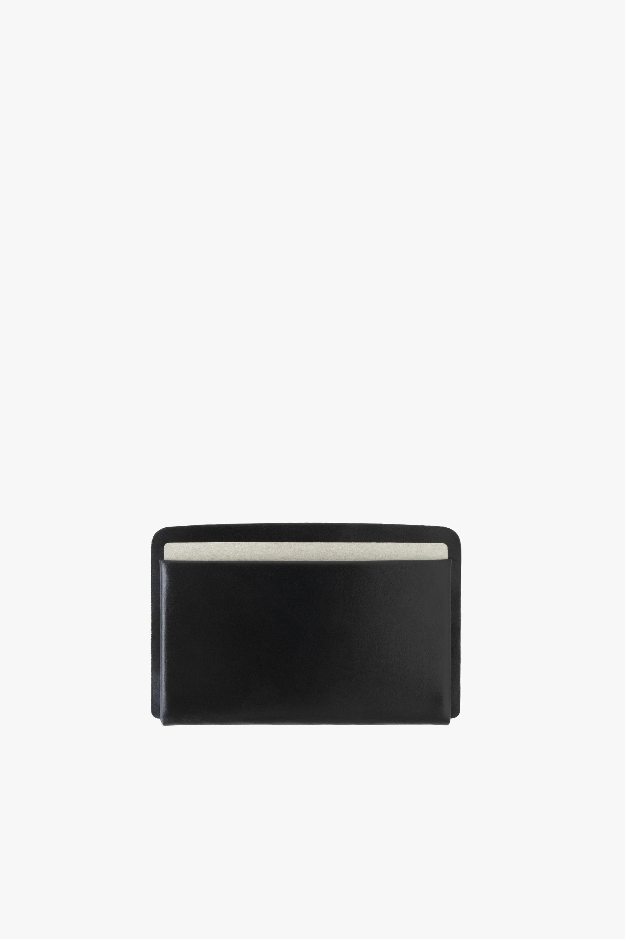Loop Landscape Cardholder Black Horween Chromexcel Leather