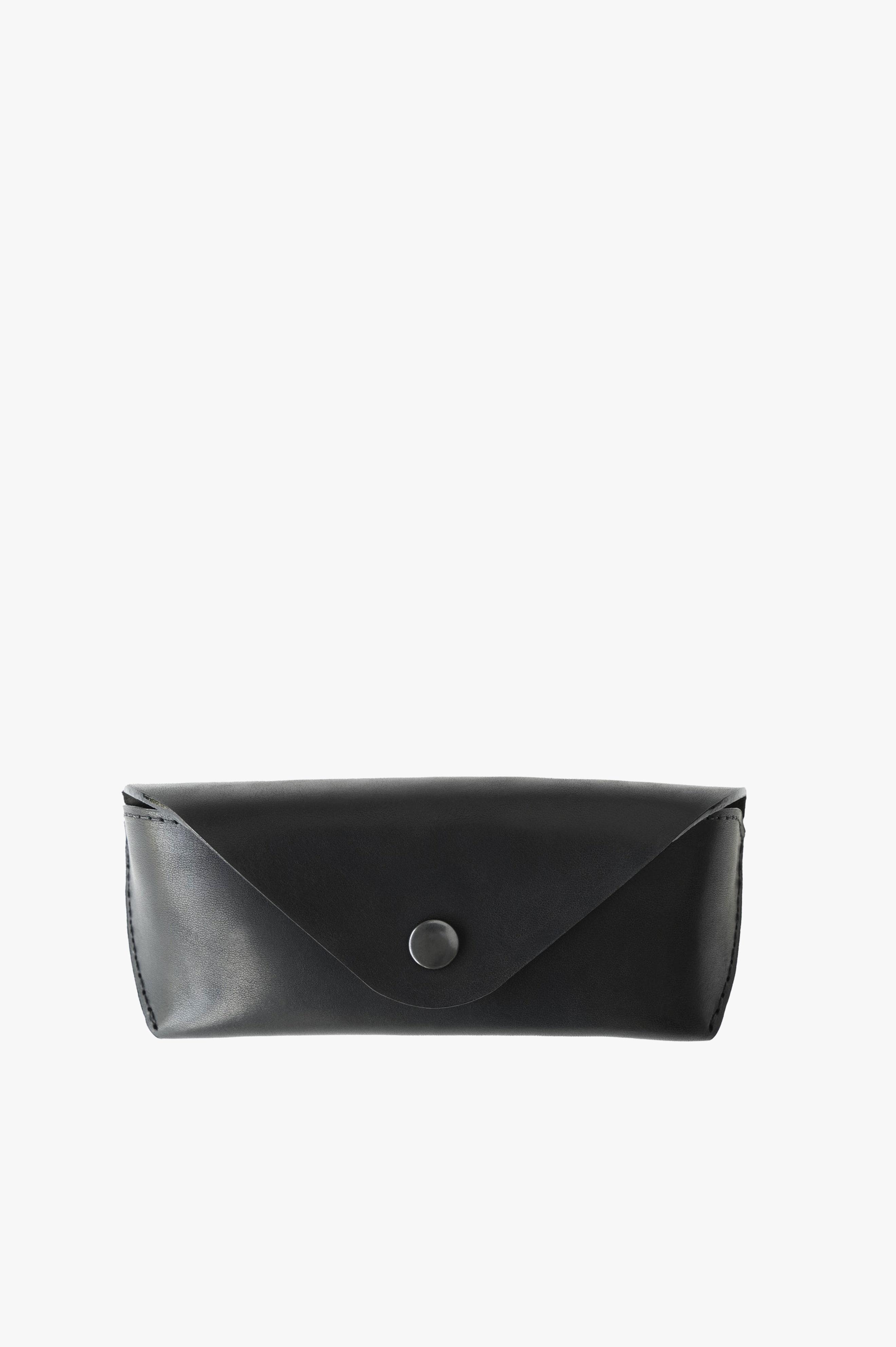 Eyewear Case Black Horween® Essex® Leather