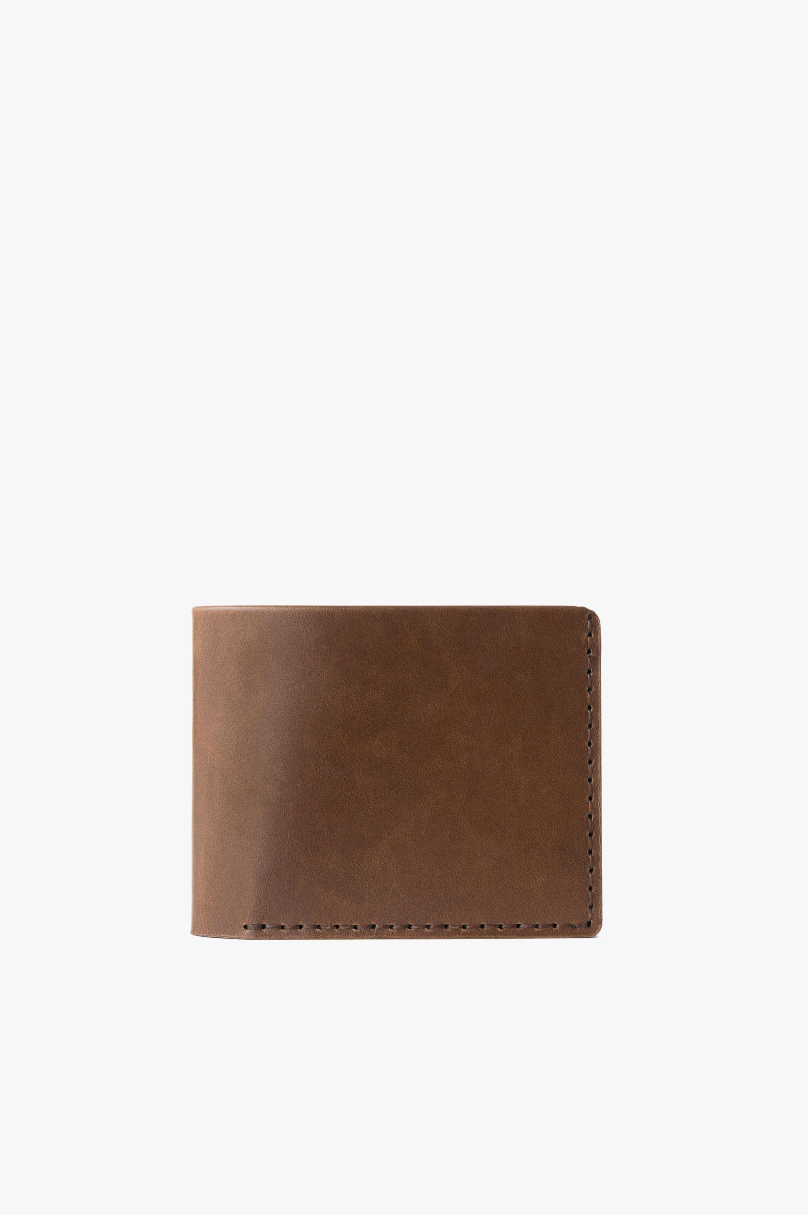 Landscape Billfold Wallet Bark Horween® Chromexcel® Leather