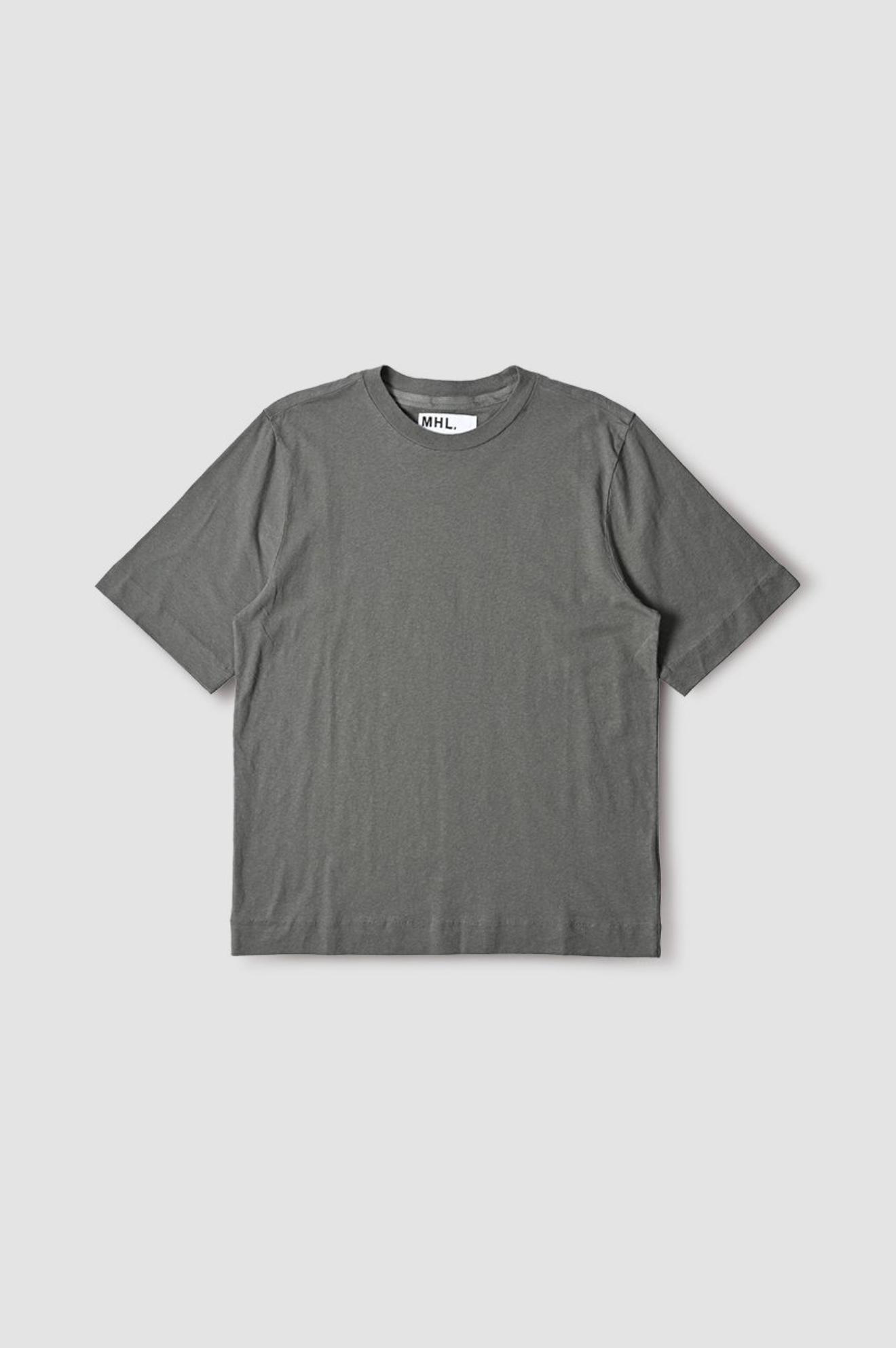 Basic T-Shirt Cotton Linen Sage