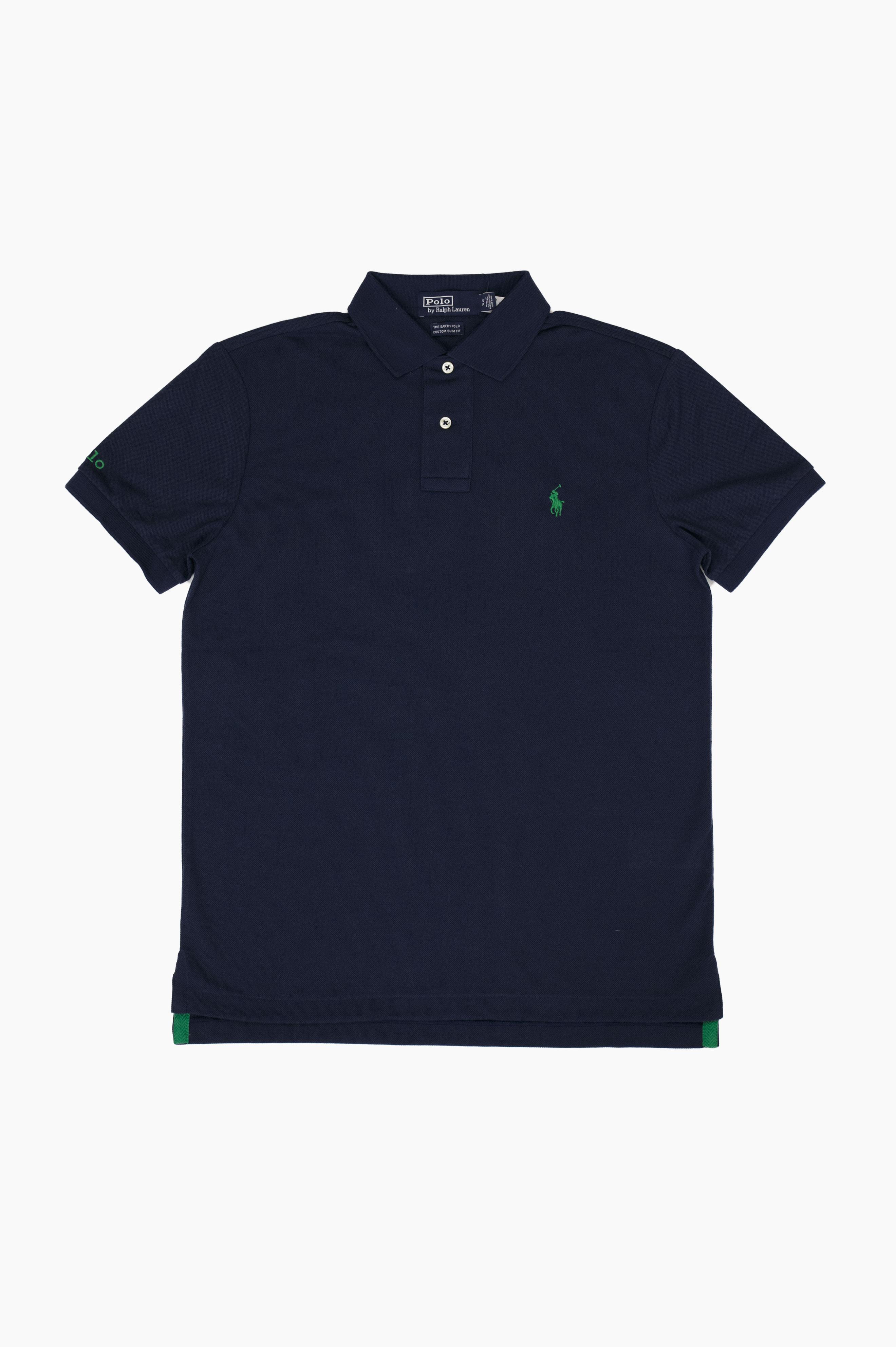 Earth Polo Shirt Navy