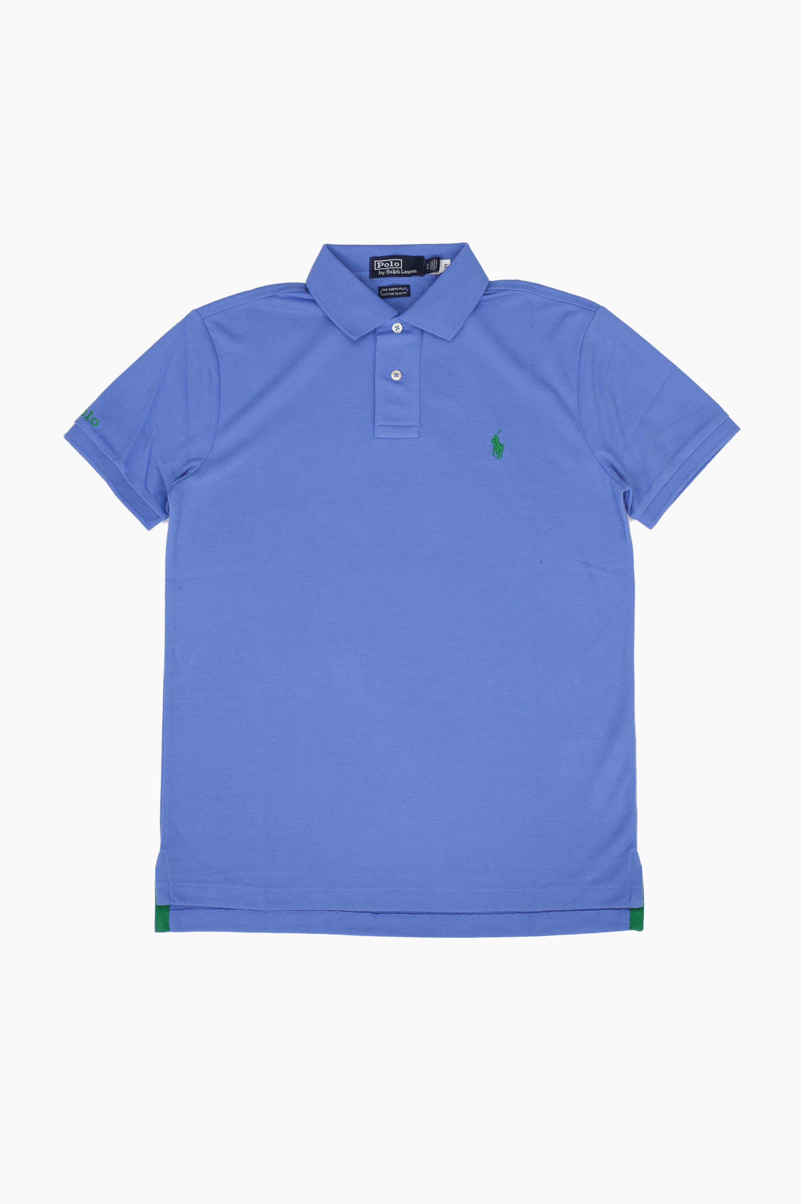 Earth Polo Shirt Blue