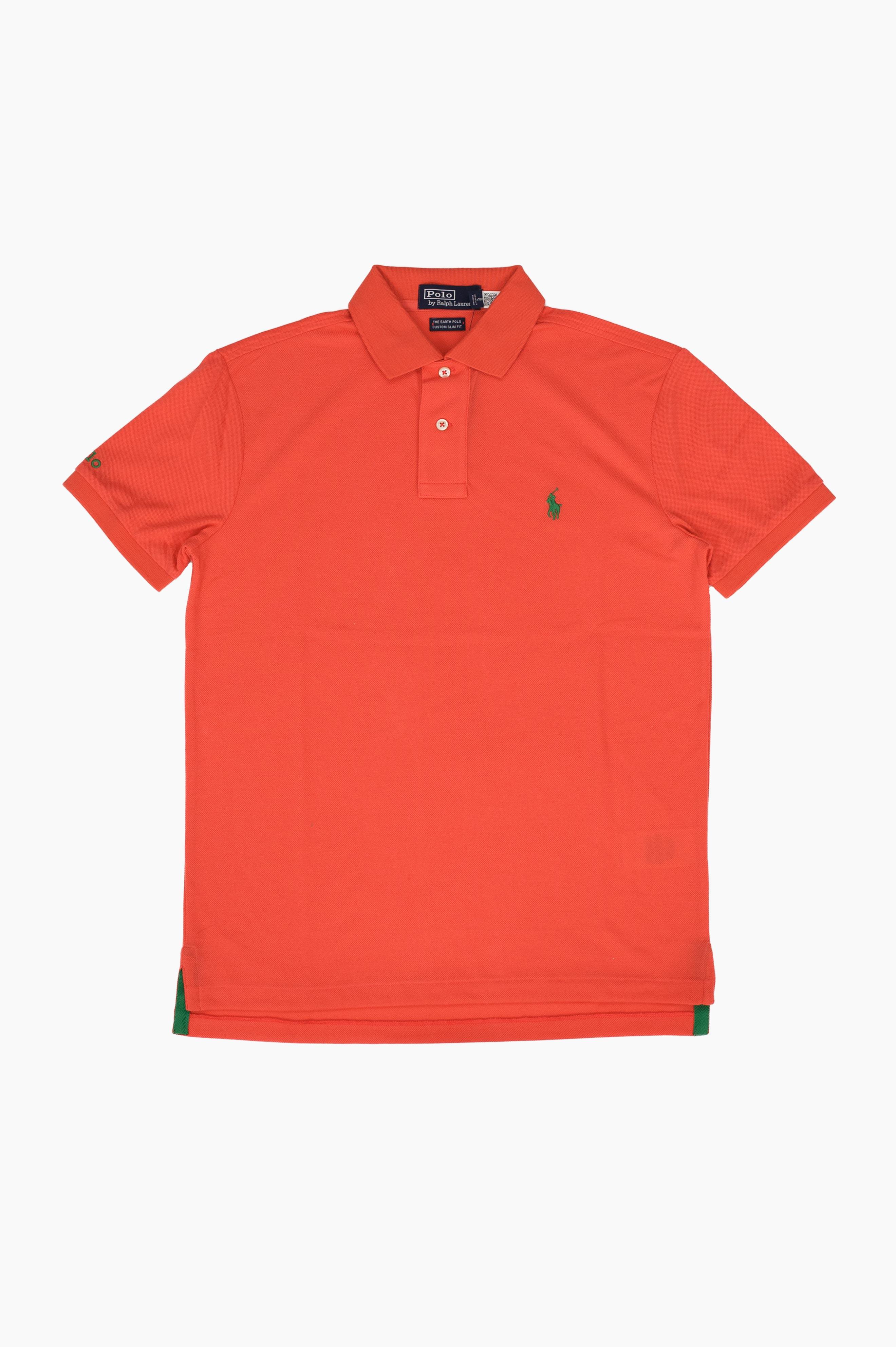 Earth Polo Shirt Orange