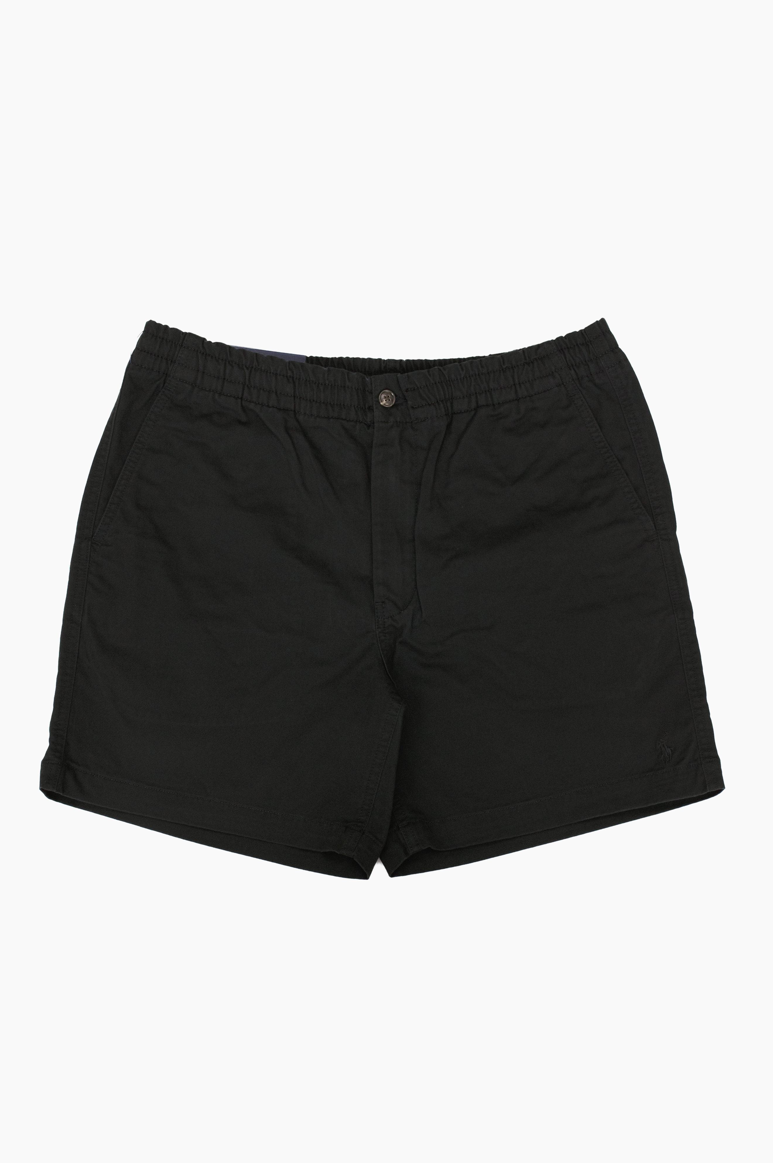 Prepster Twill Shorts Black