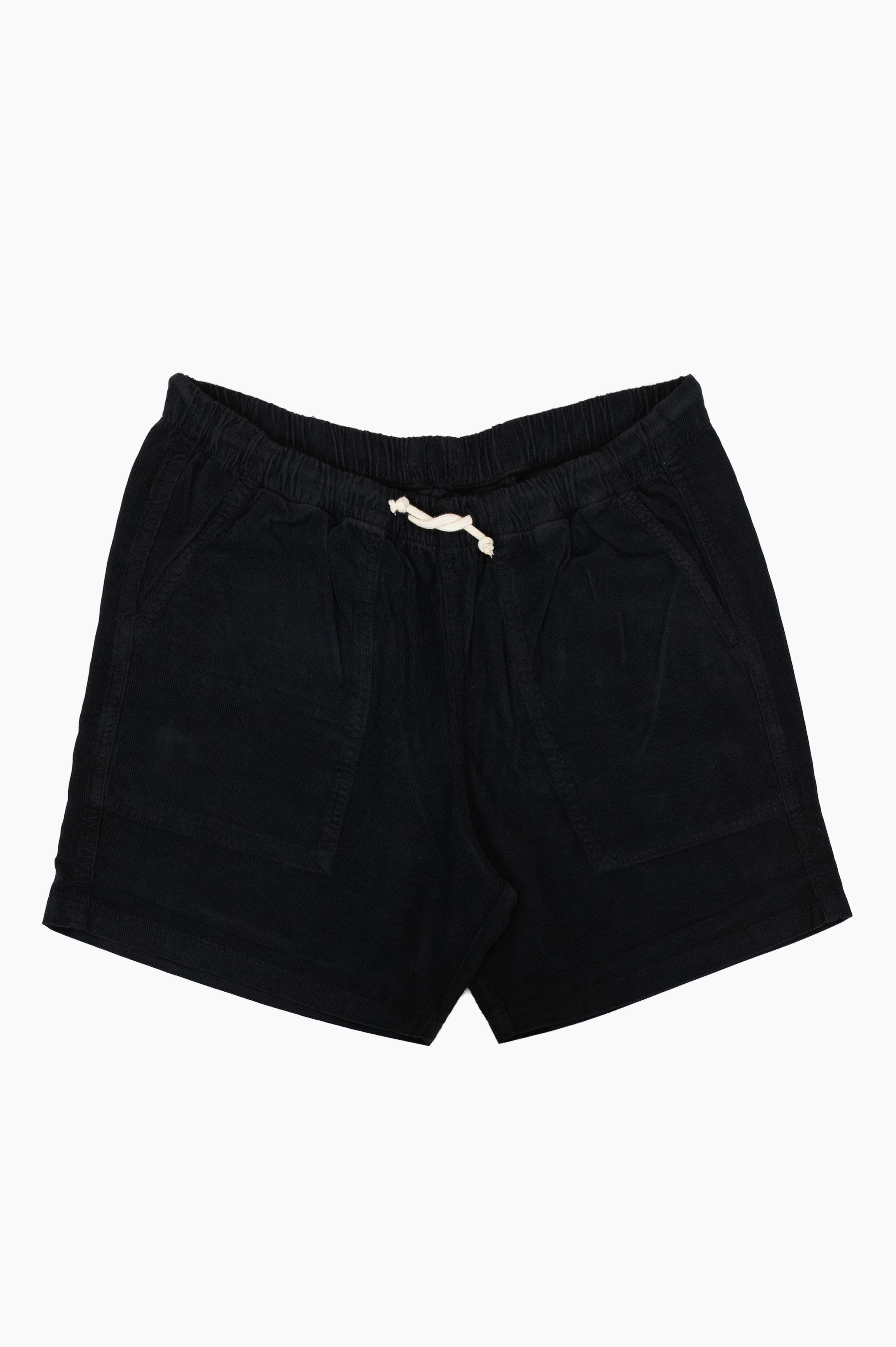 Corduroy Short Pants Dark Navy