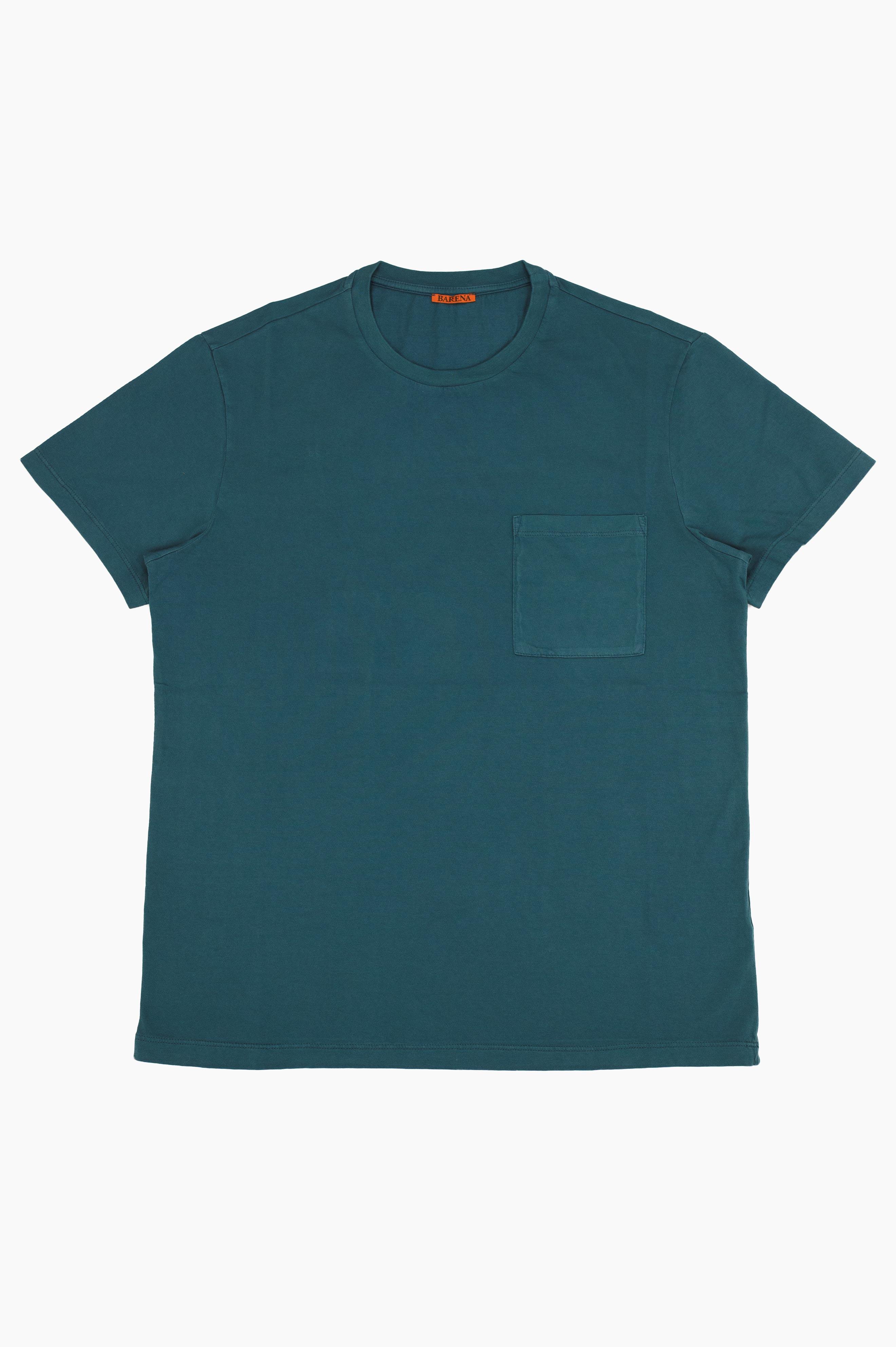 Giro Pocket T-Shirt Petrol Blue