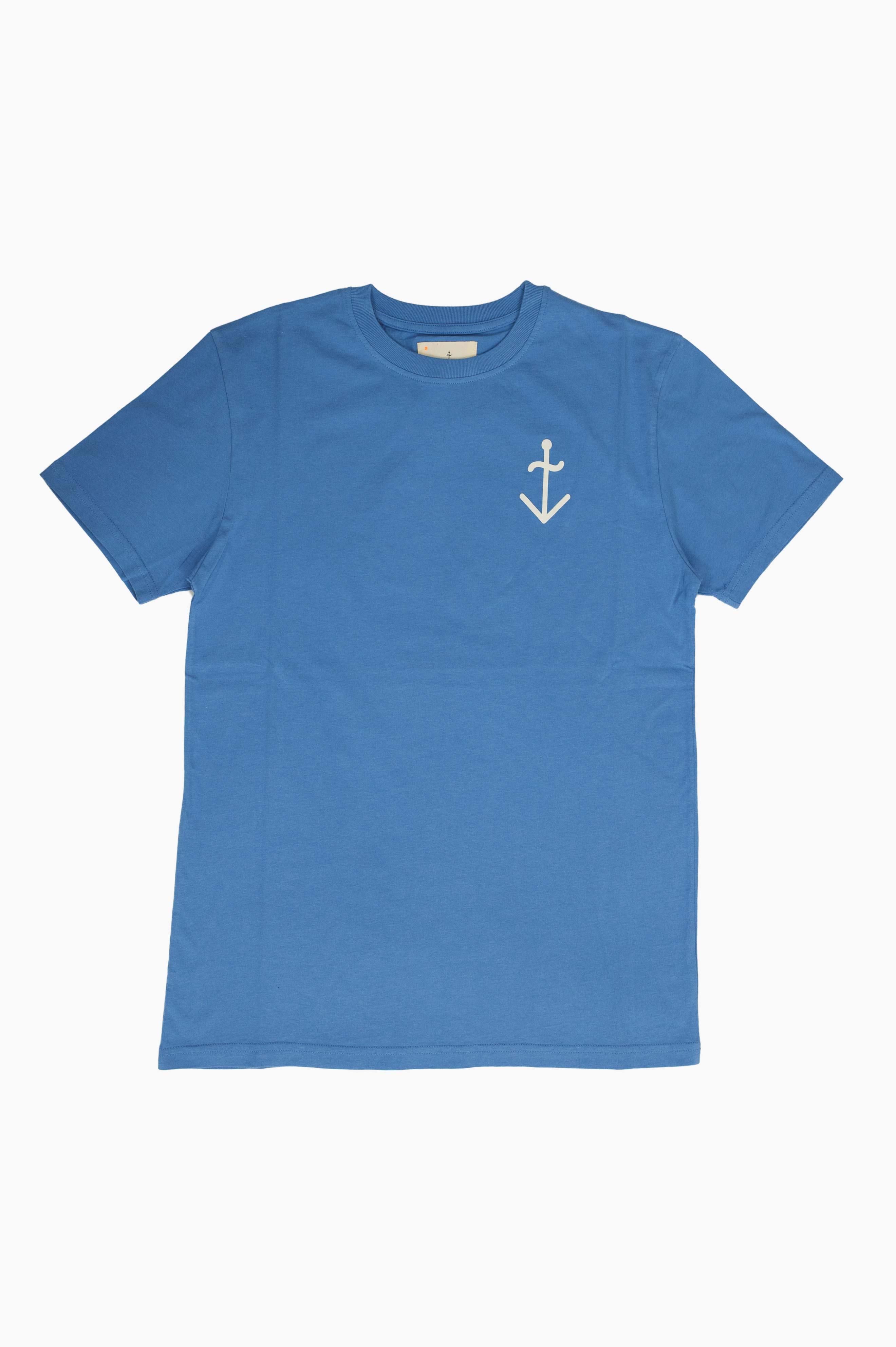 Dantas Logo T-Shirt Blue