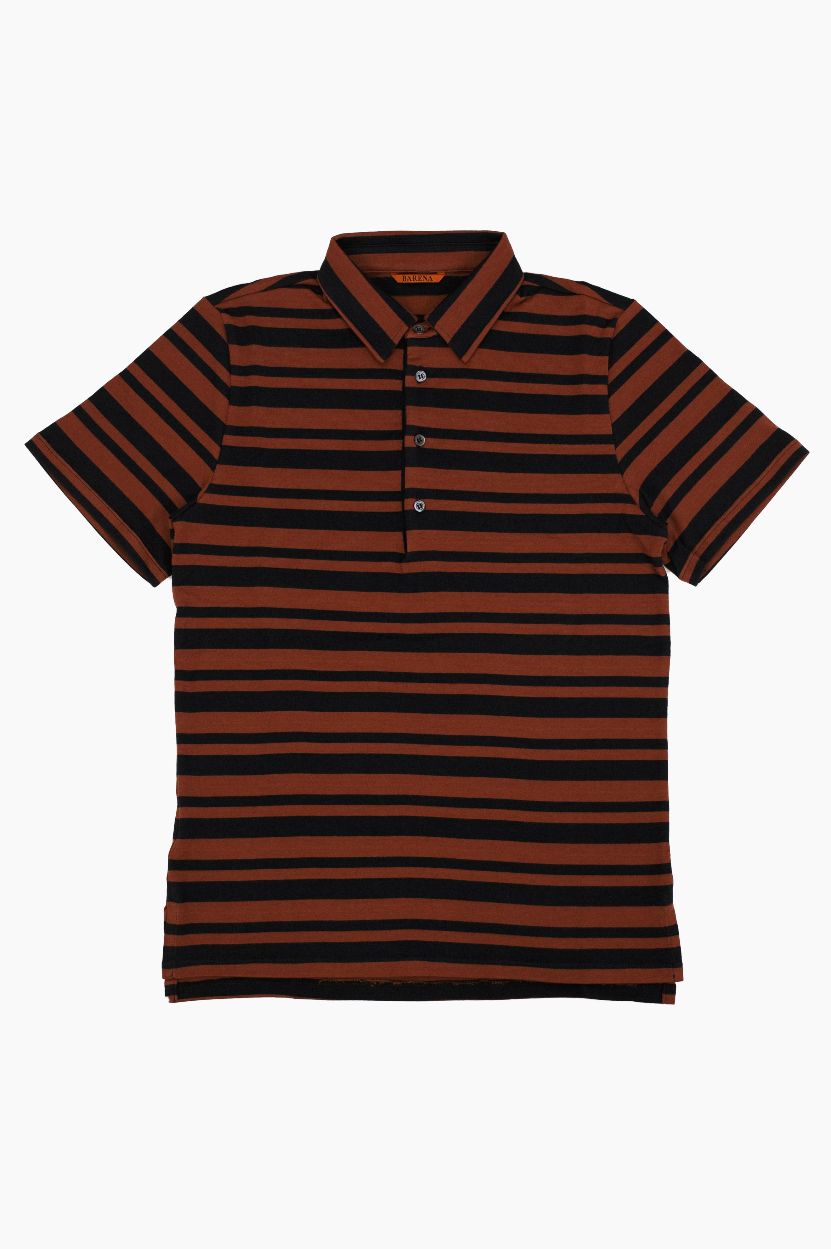 Scalmana Polo Shirt Black/Red