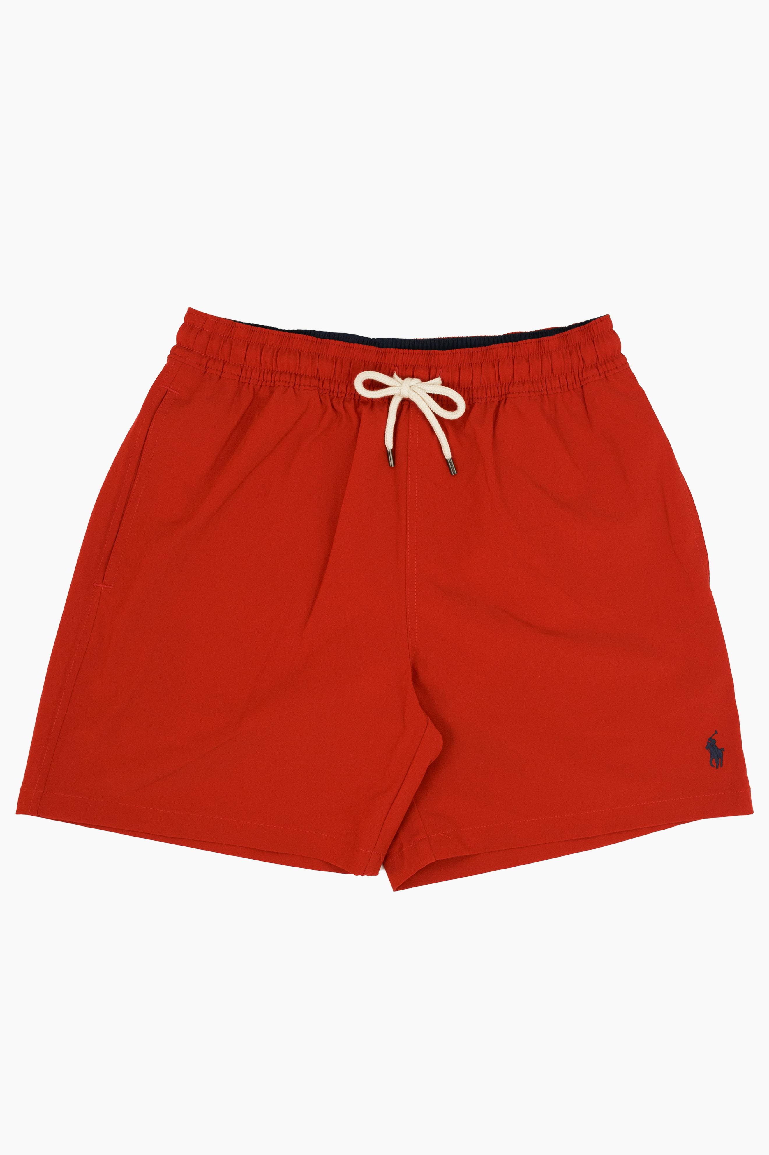 Traveler Swim Shorts Red