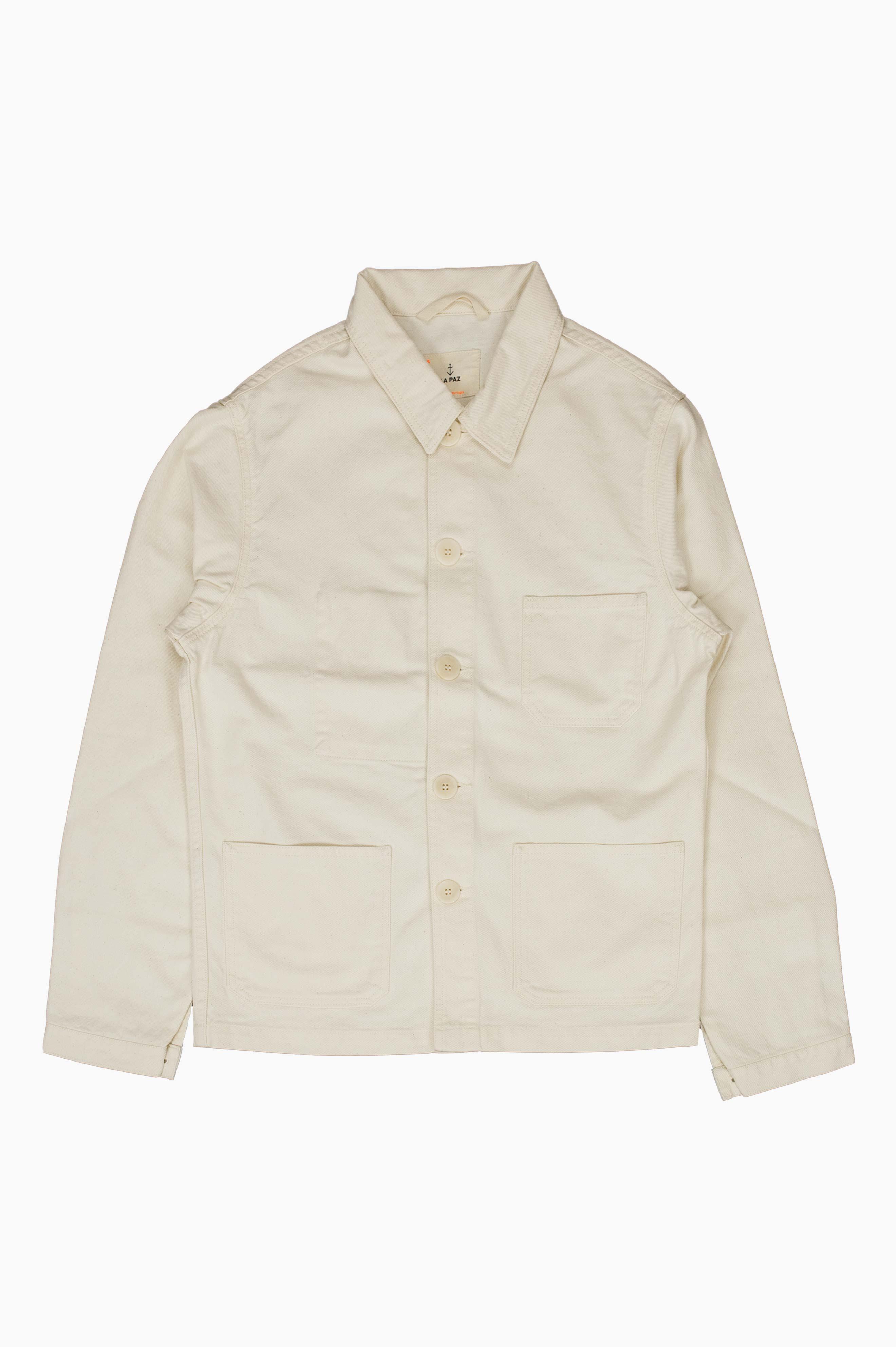 Baptista Worker Jacket Off White Denim