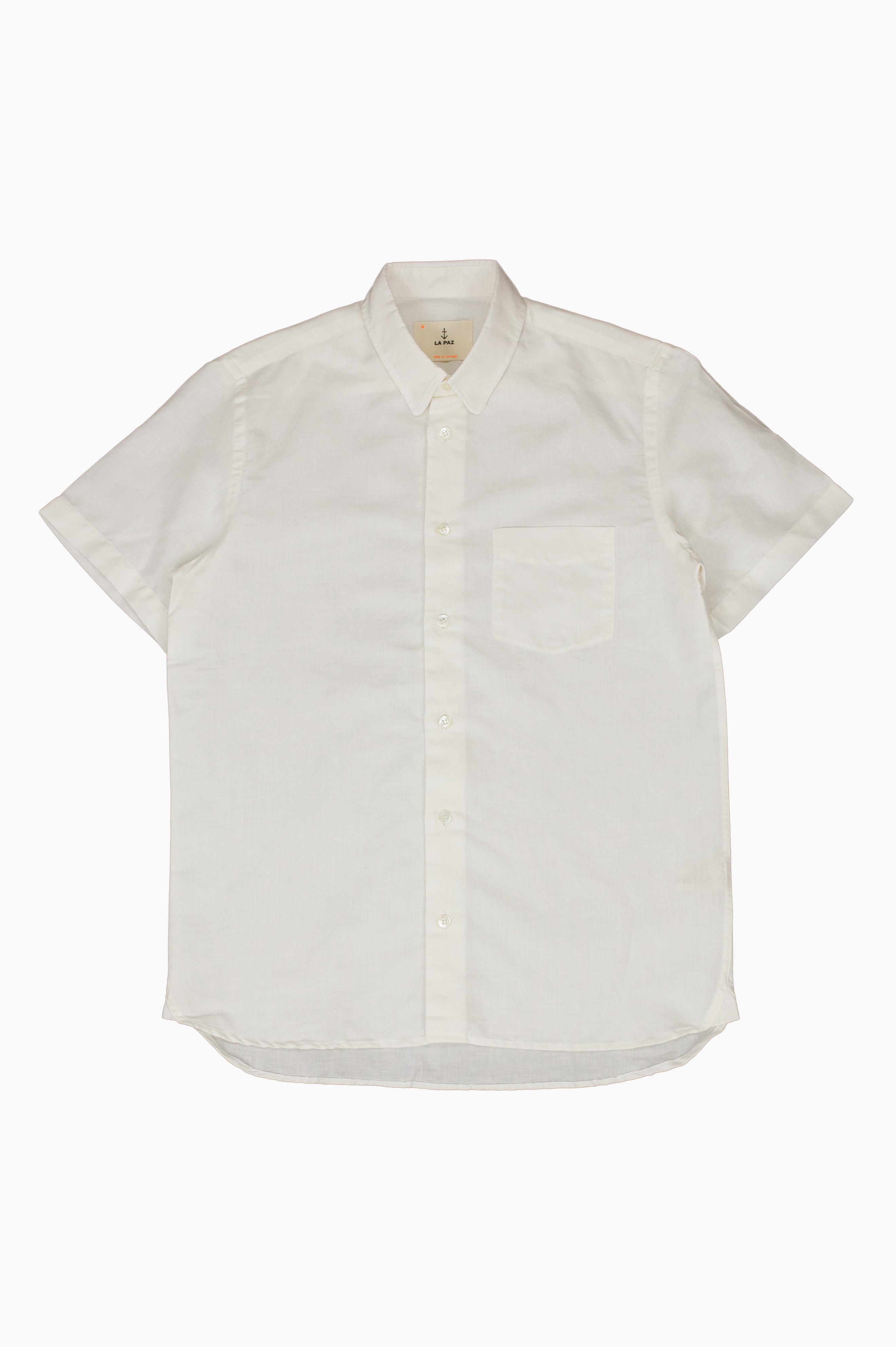 Ribeiro Short Sleeve Shirt White