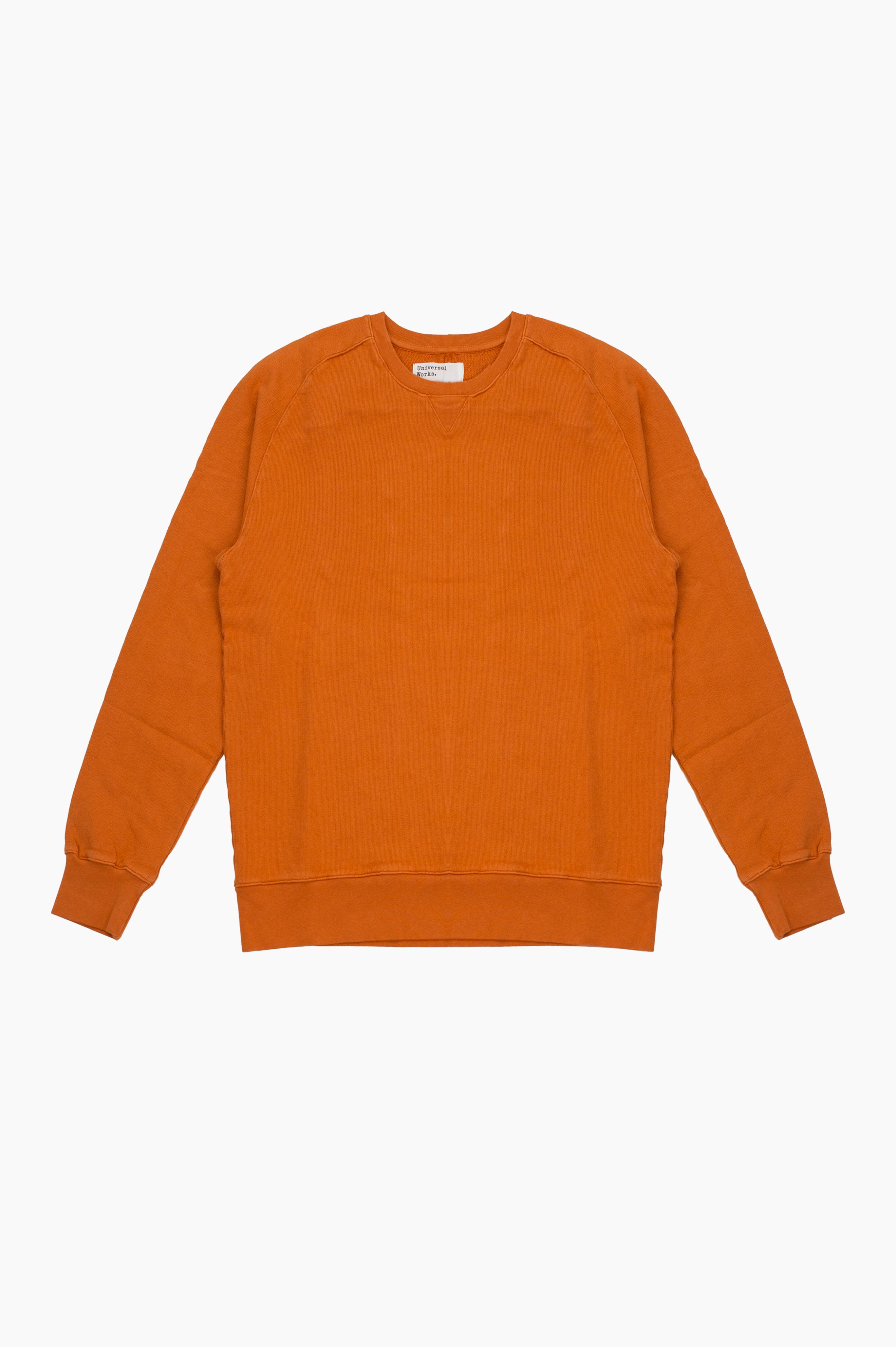 Loopback Sweatshirt Orange
