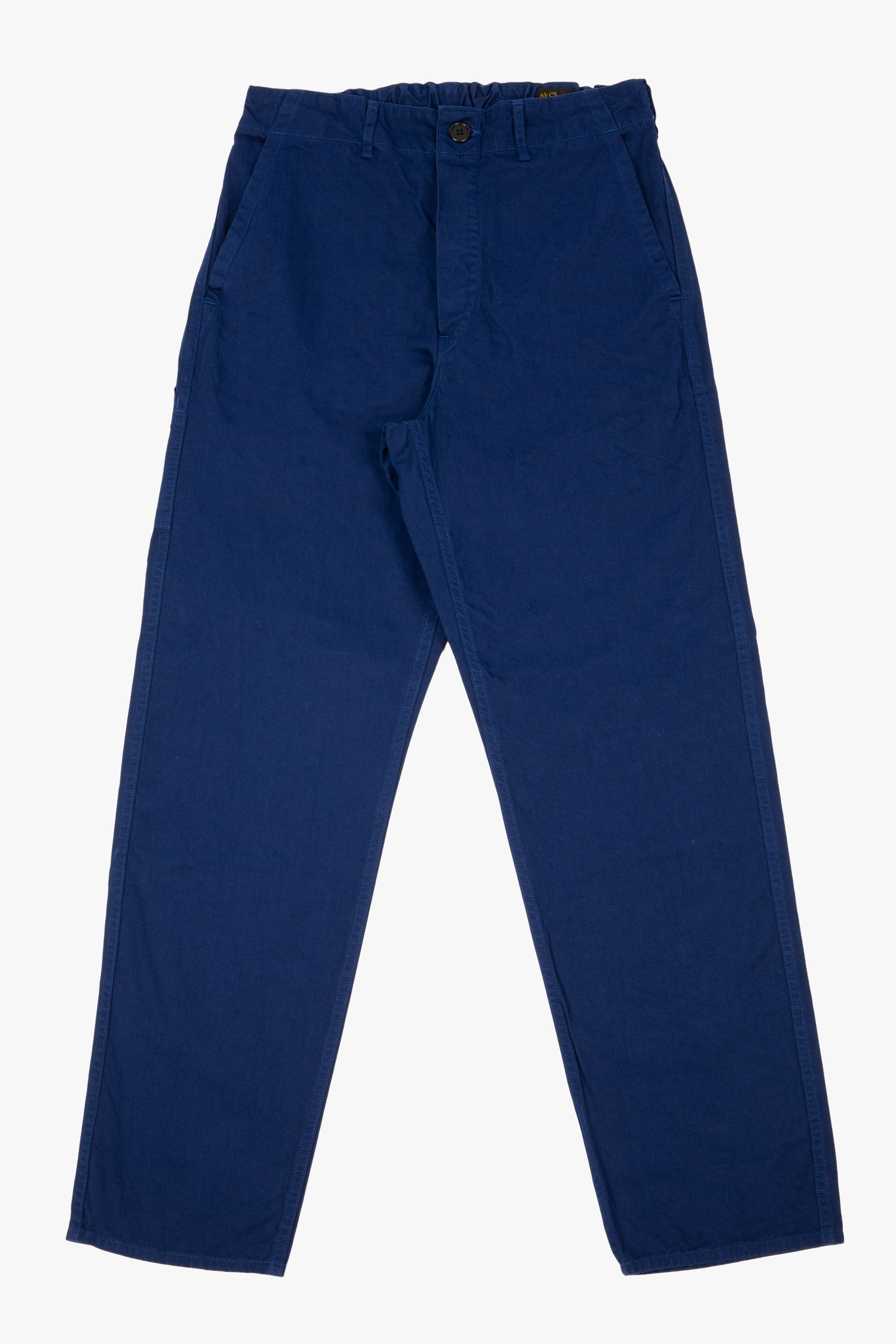 French Work Pants Blue