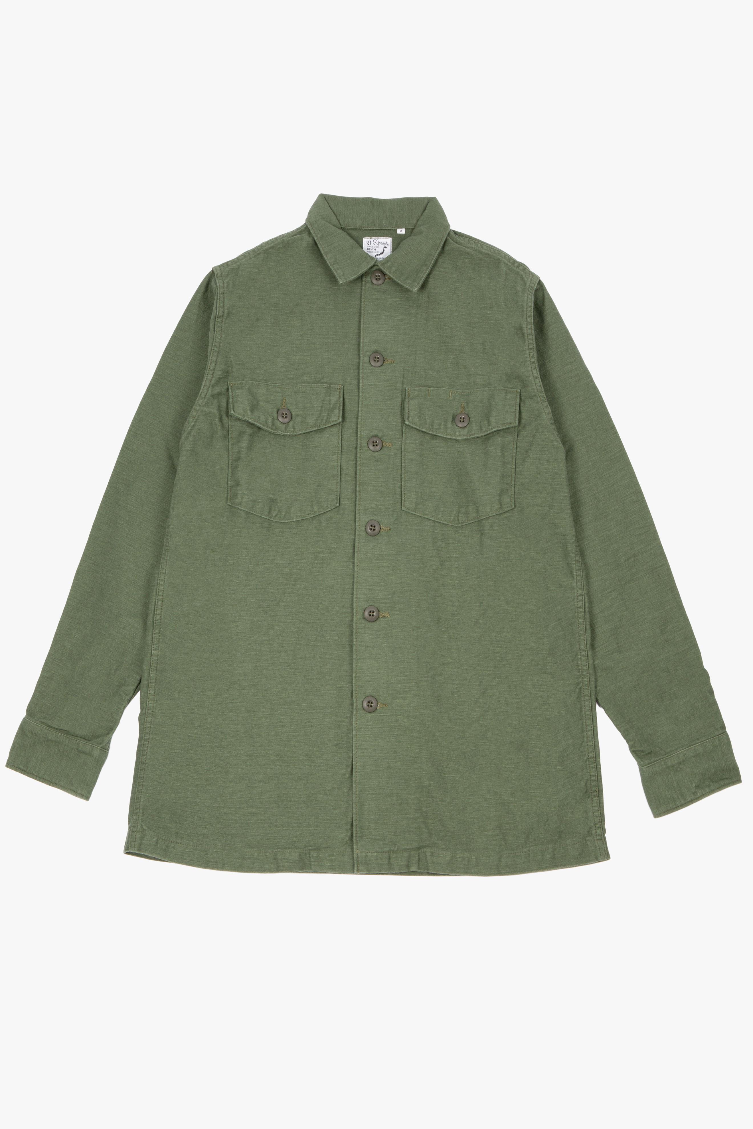 US Army Shirt Green