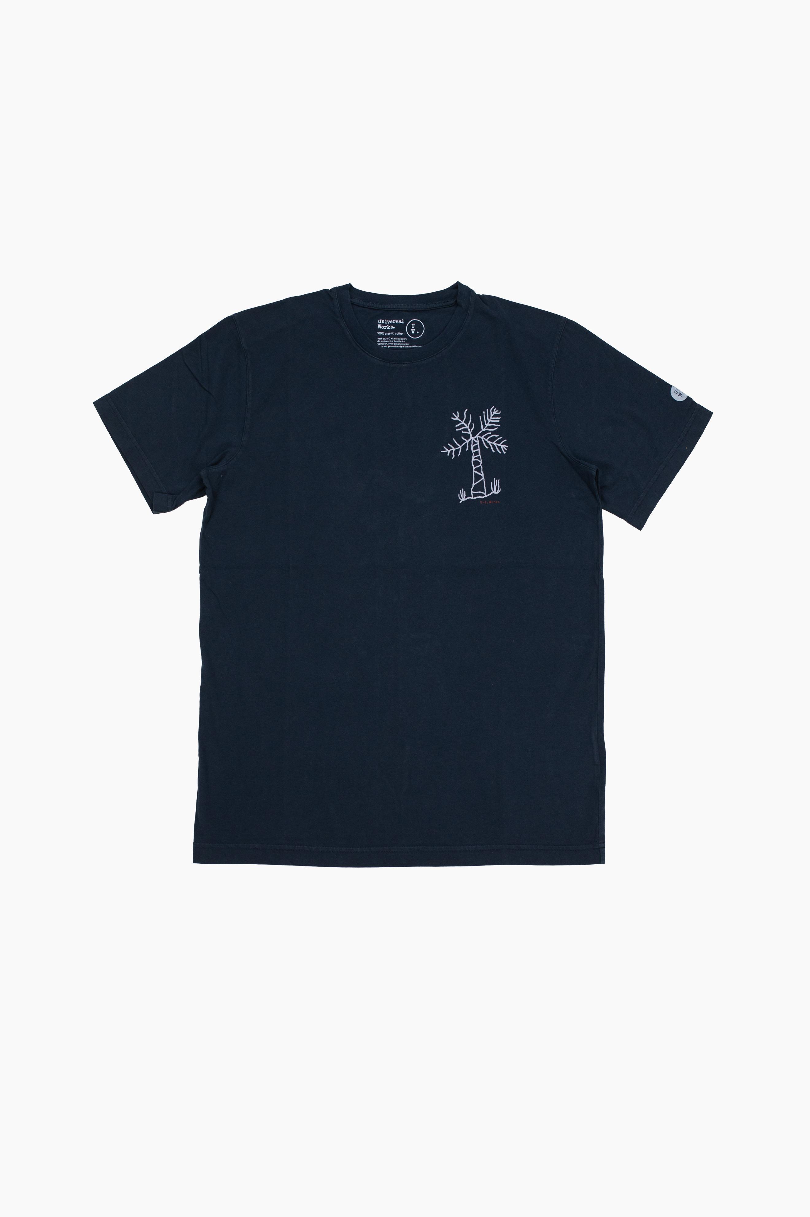Palm Tree T-Shirt Navy