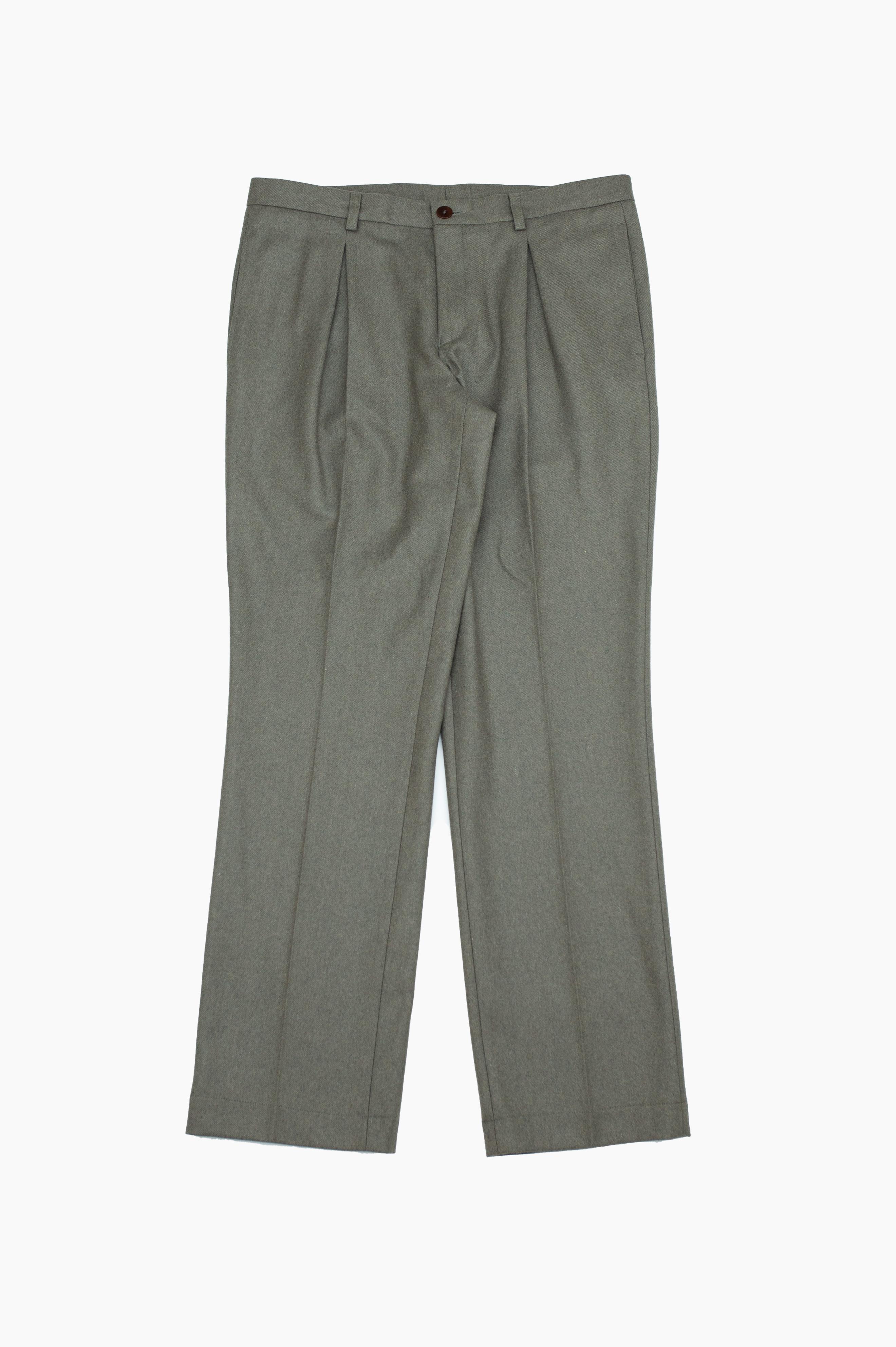 Setas Trousers Olive Green Mesc