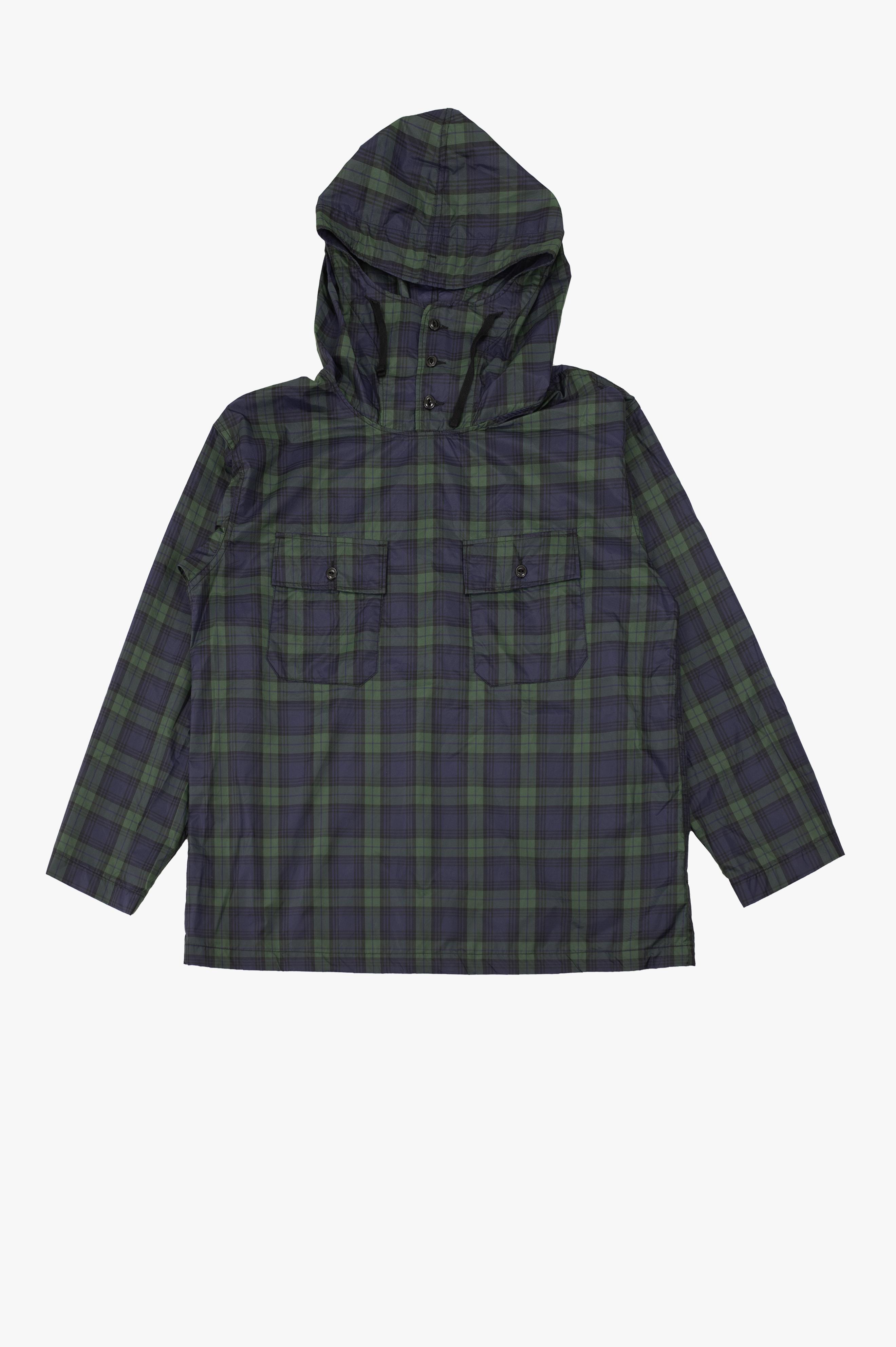 Cagoule Shirt Navy/Green
