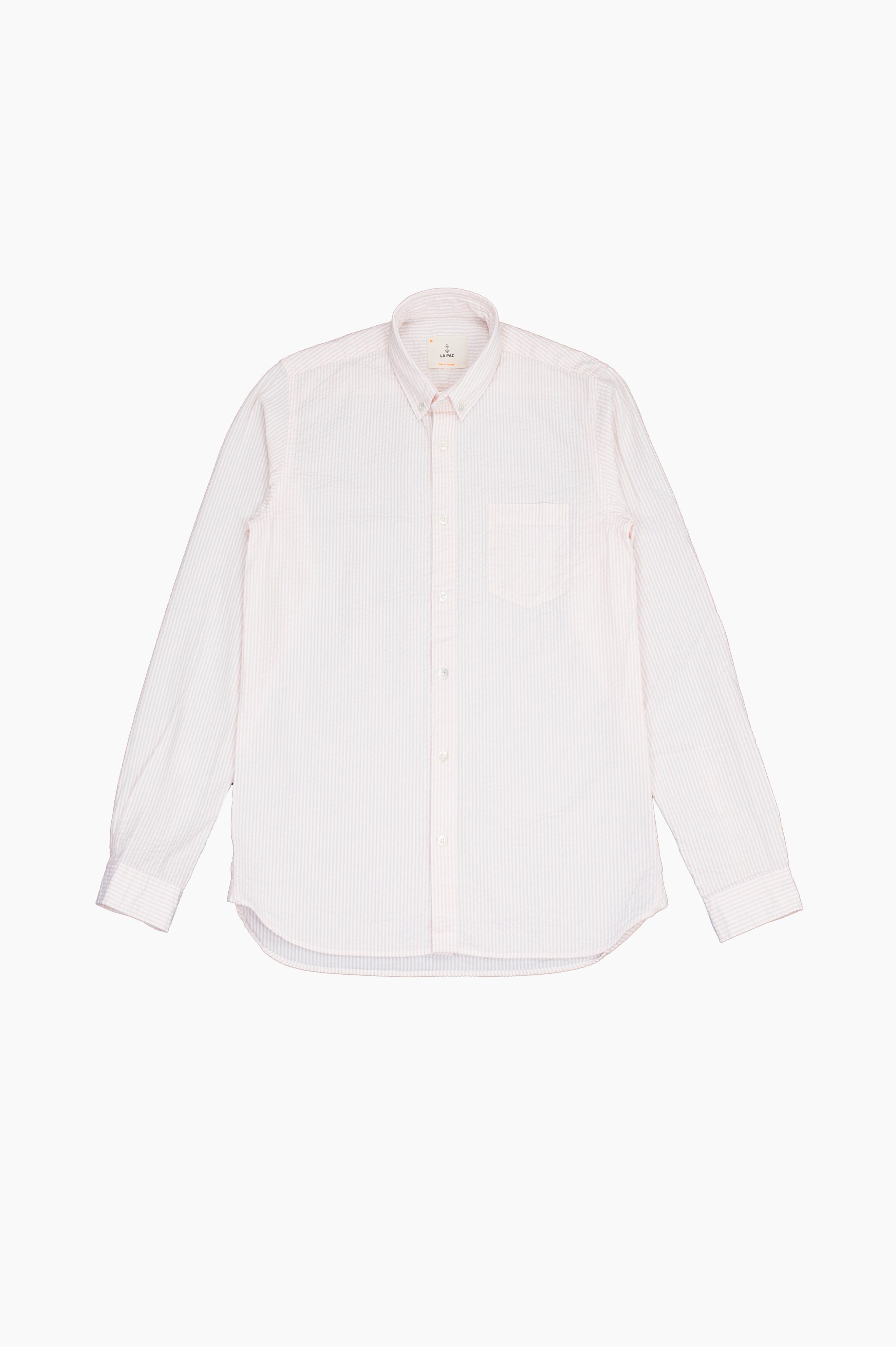 Laranjeira Salmon Stripes Shirt