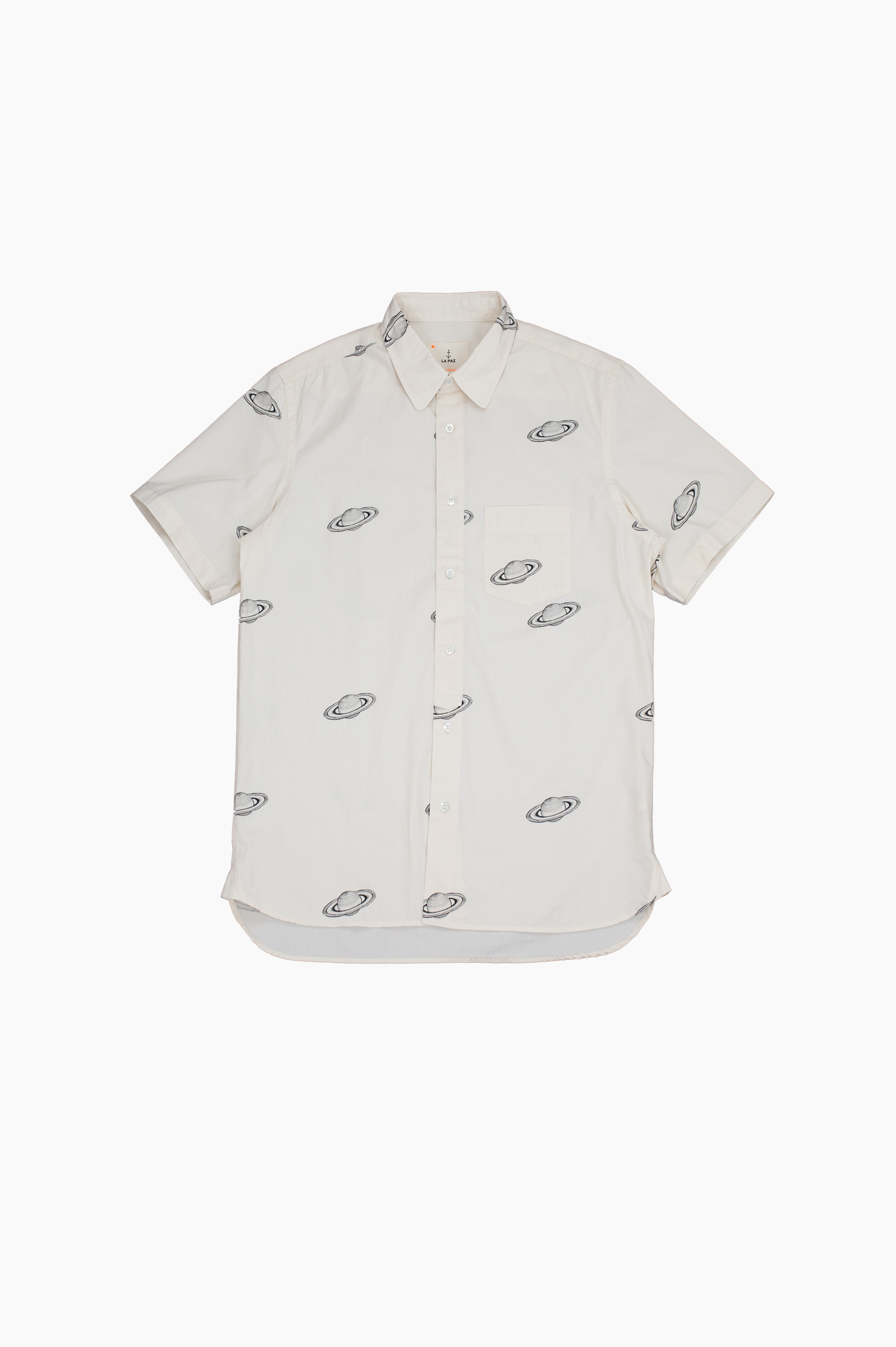 Alegre Saturn Short Sleeve Shirt Off White