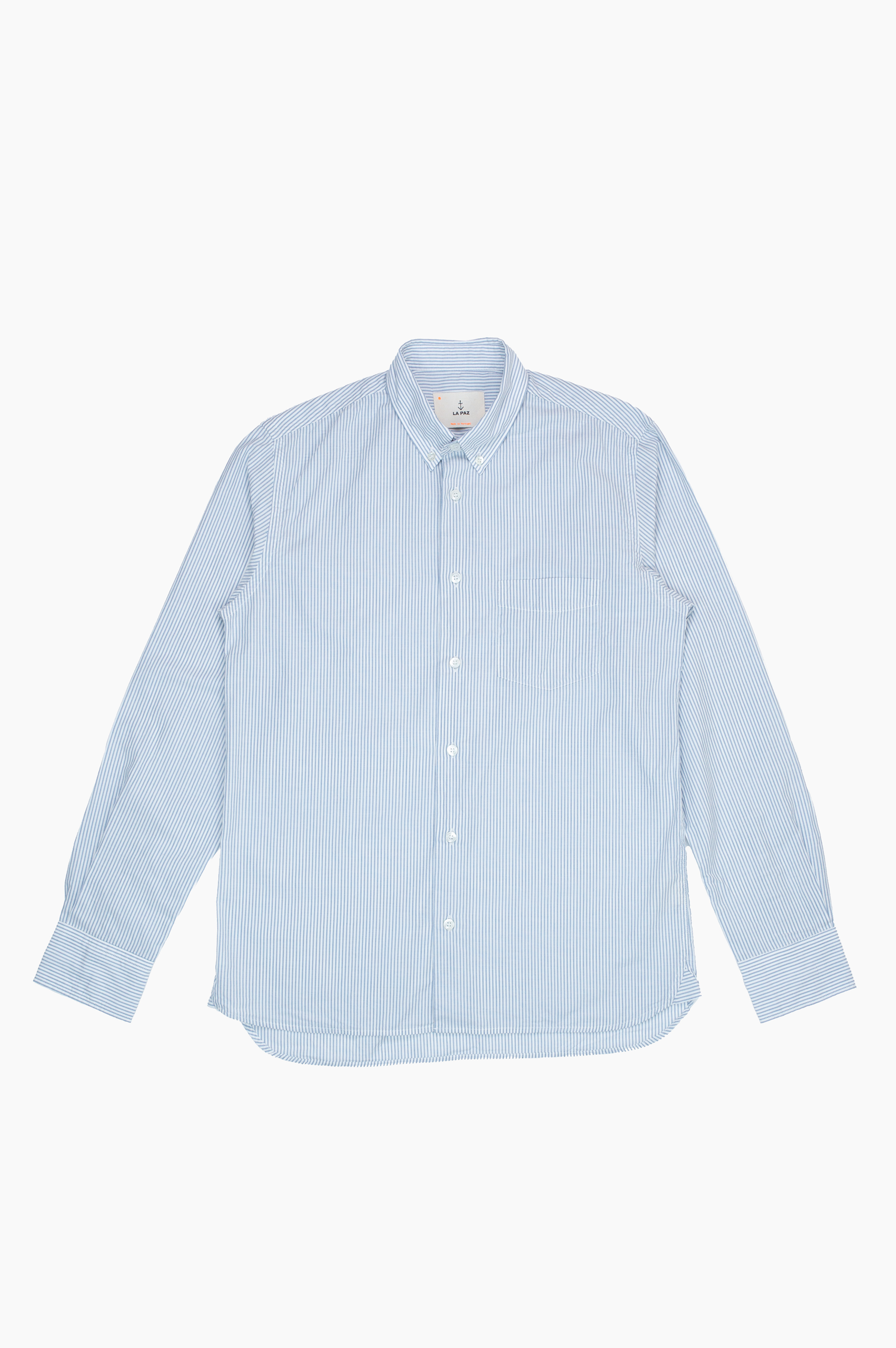 Branco Stripes Shirt White/Blue