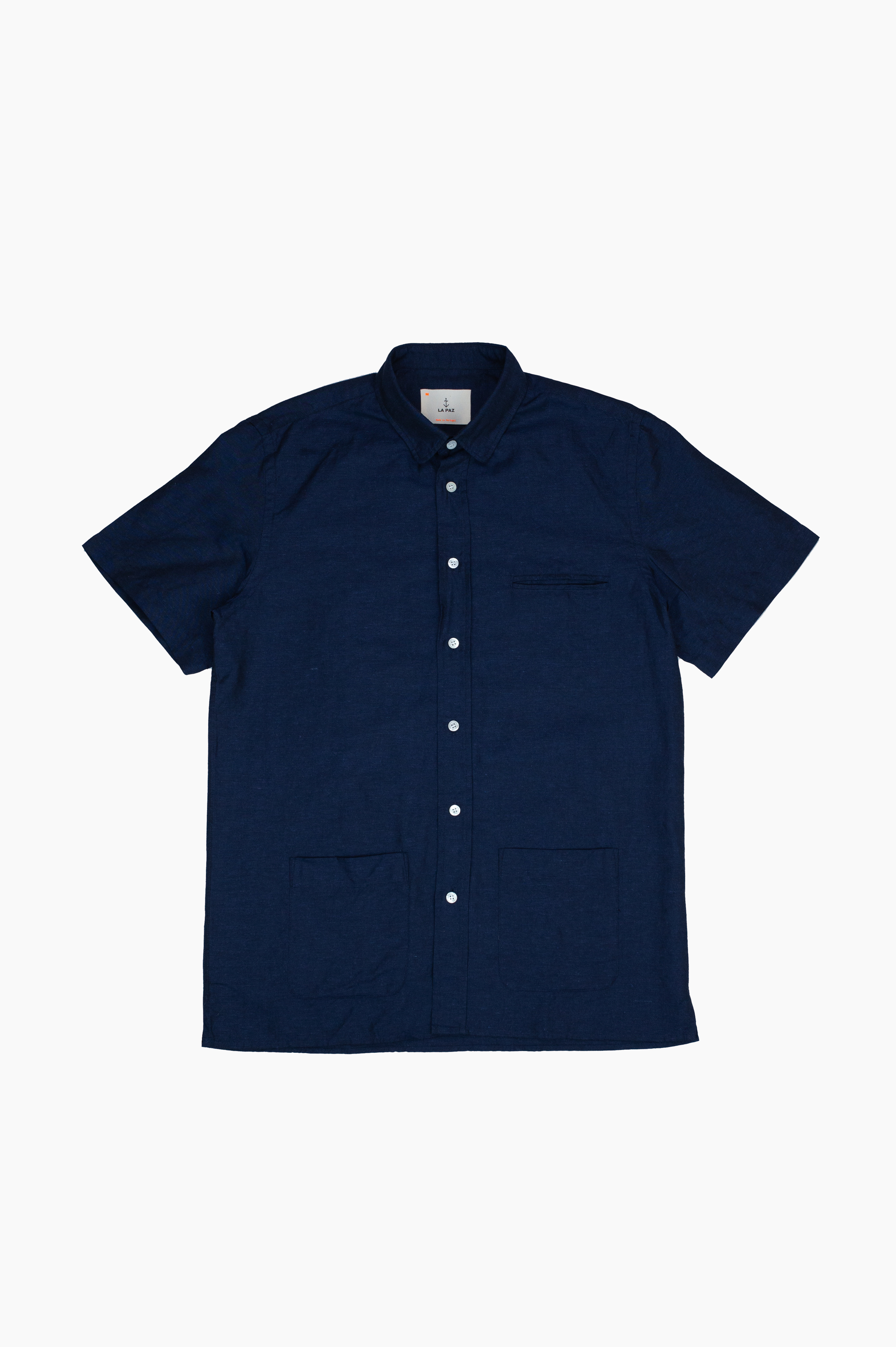 Castro Short Sleeve Shirt Navy