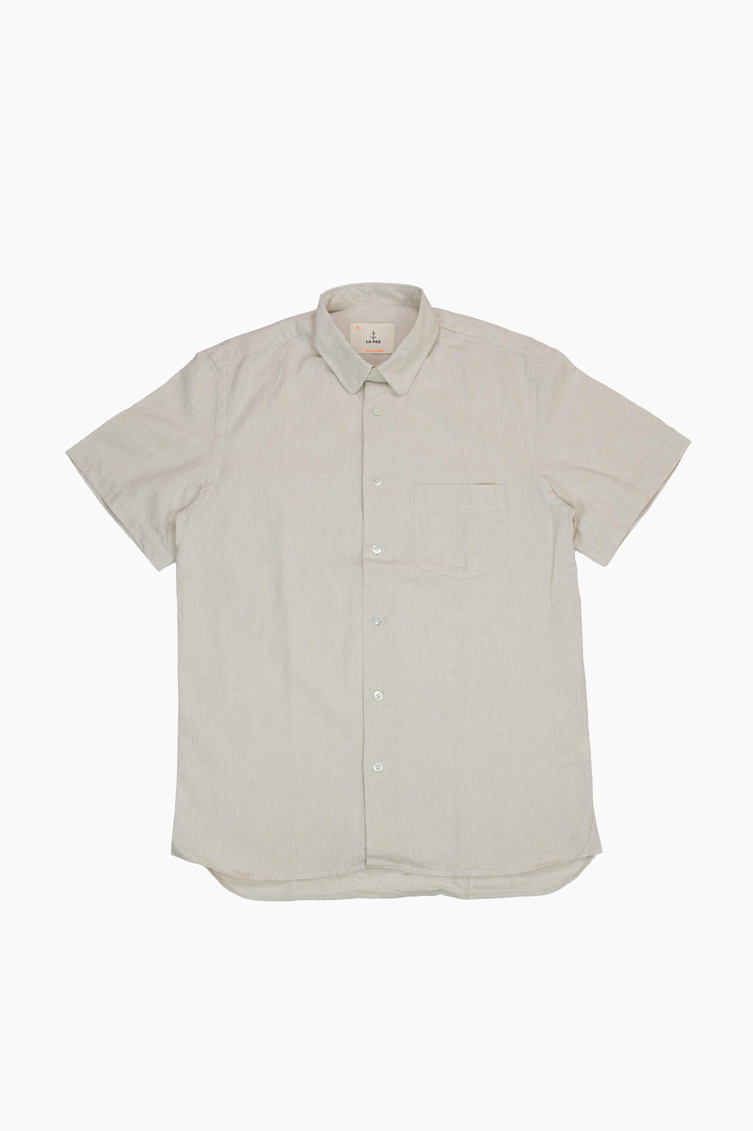 Ribeiro Short Sleeve Shirt Sand