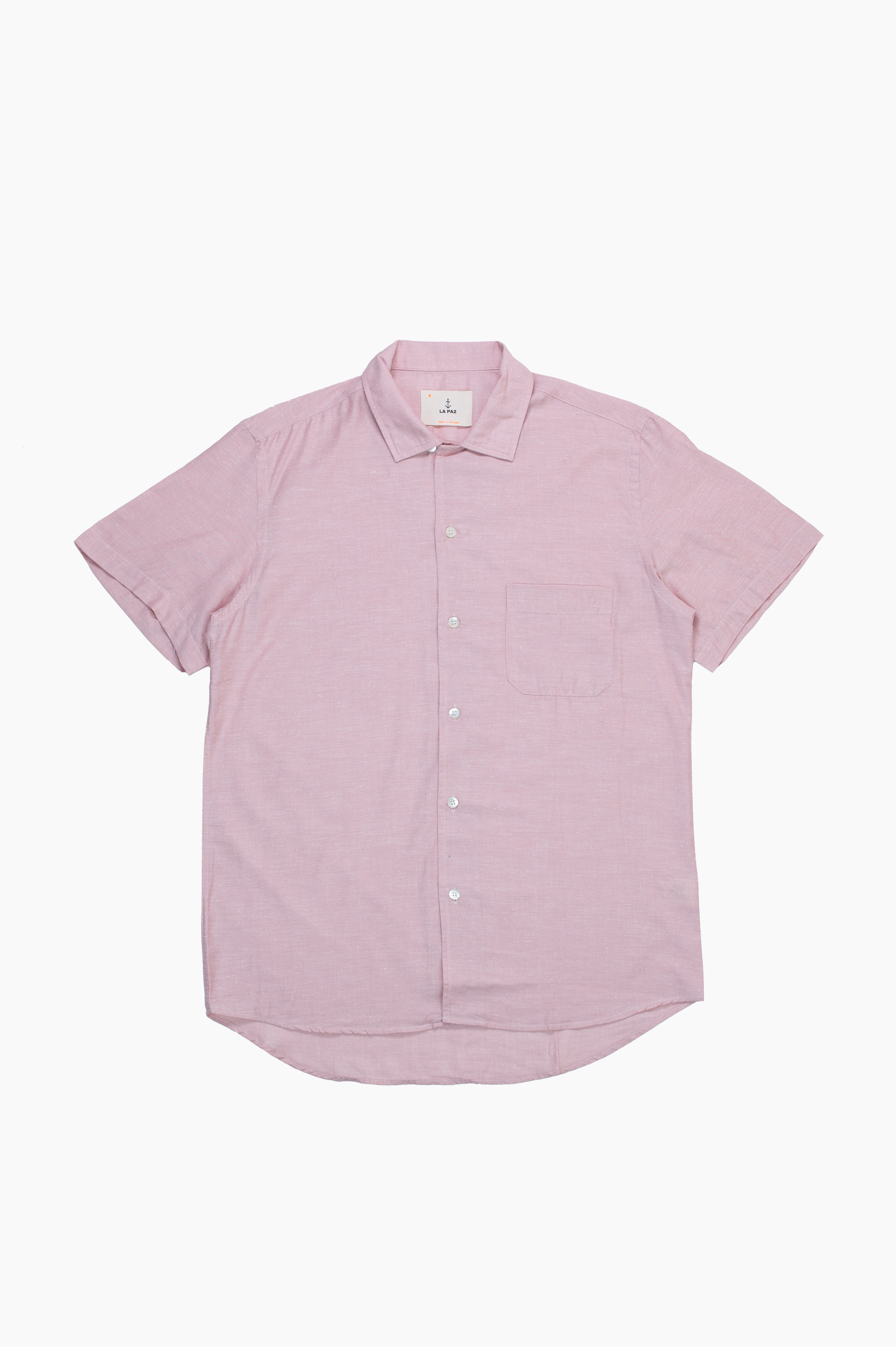 Silveira Short Sleeve Shirt Pink