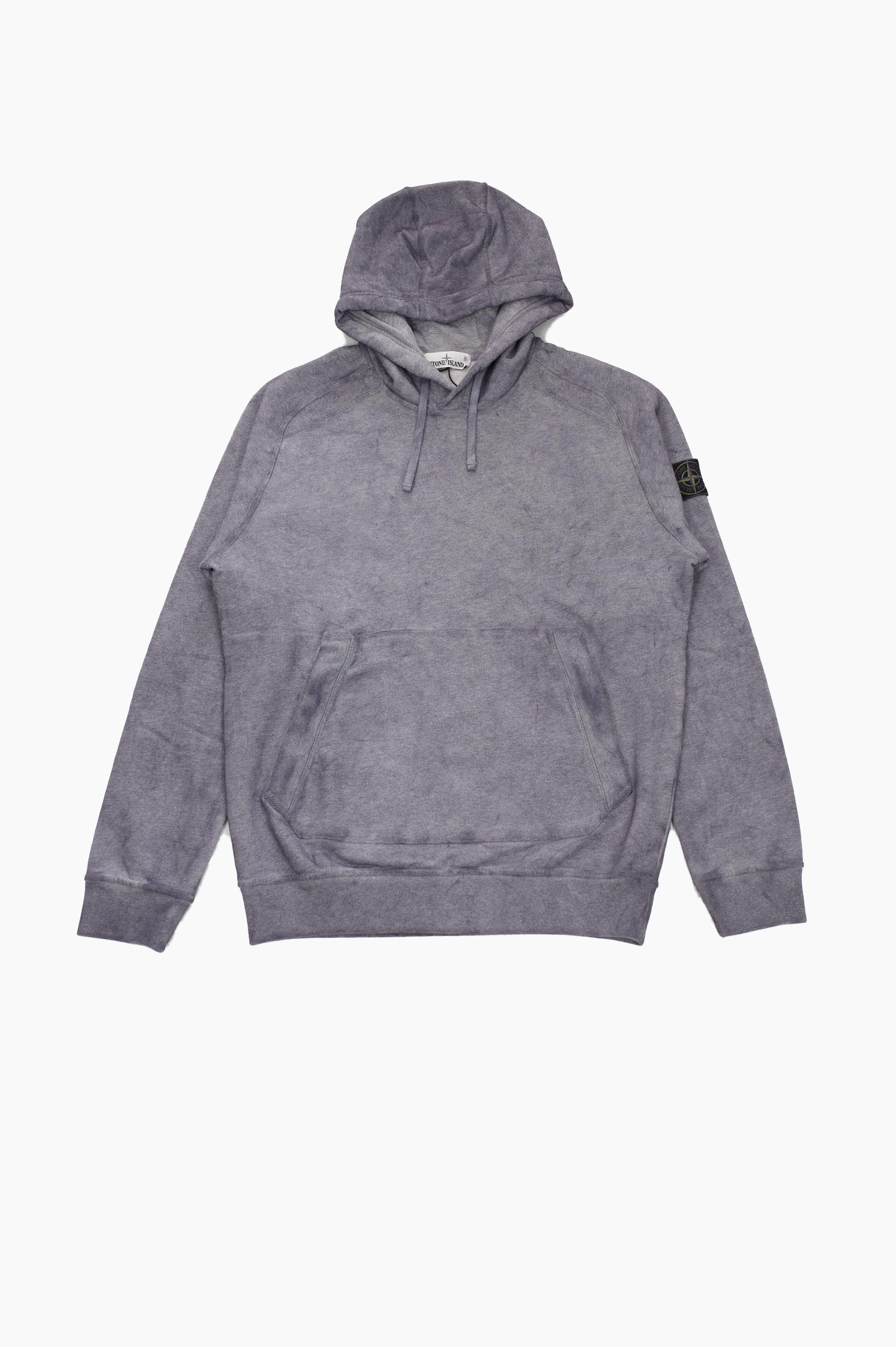 Painted Hoodie Grey
