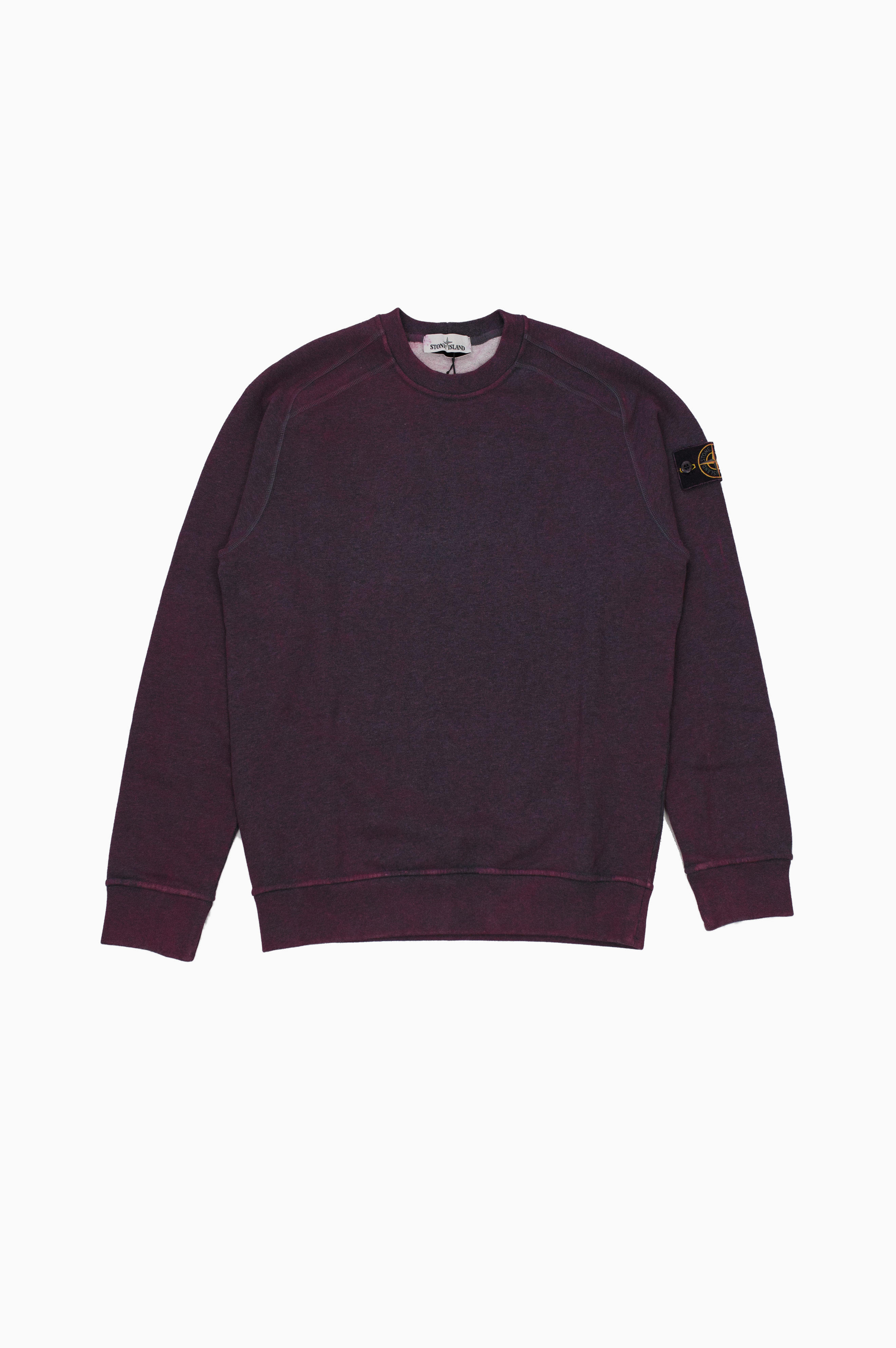 Painted Sweater Burgundy