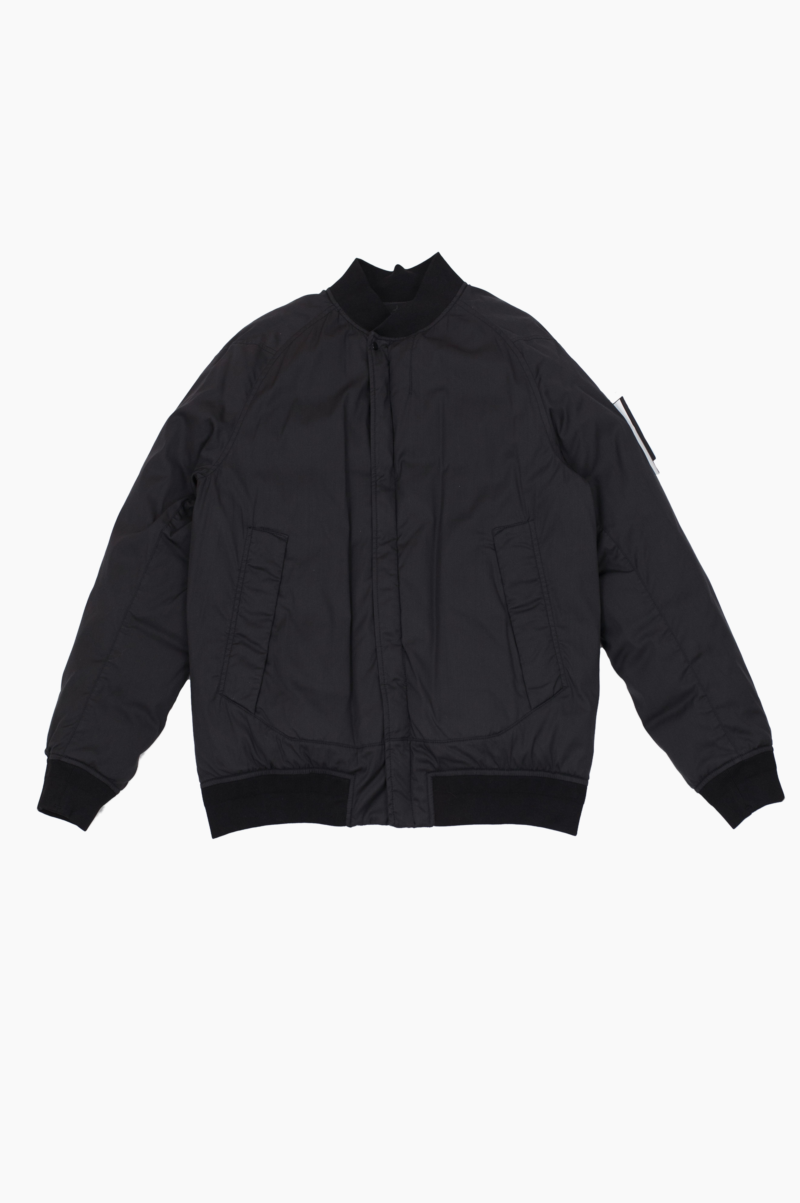 Stretch Wool Nylon-TC Down Ghost Piece Black