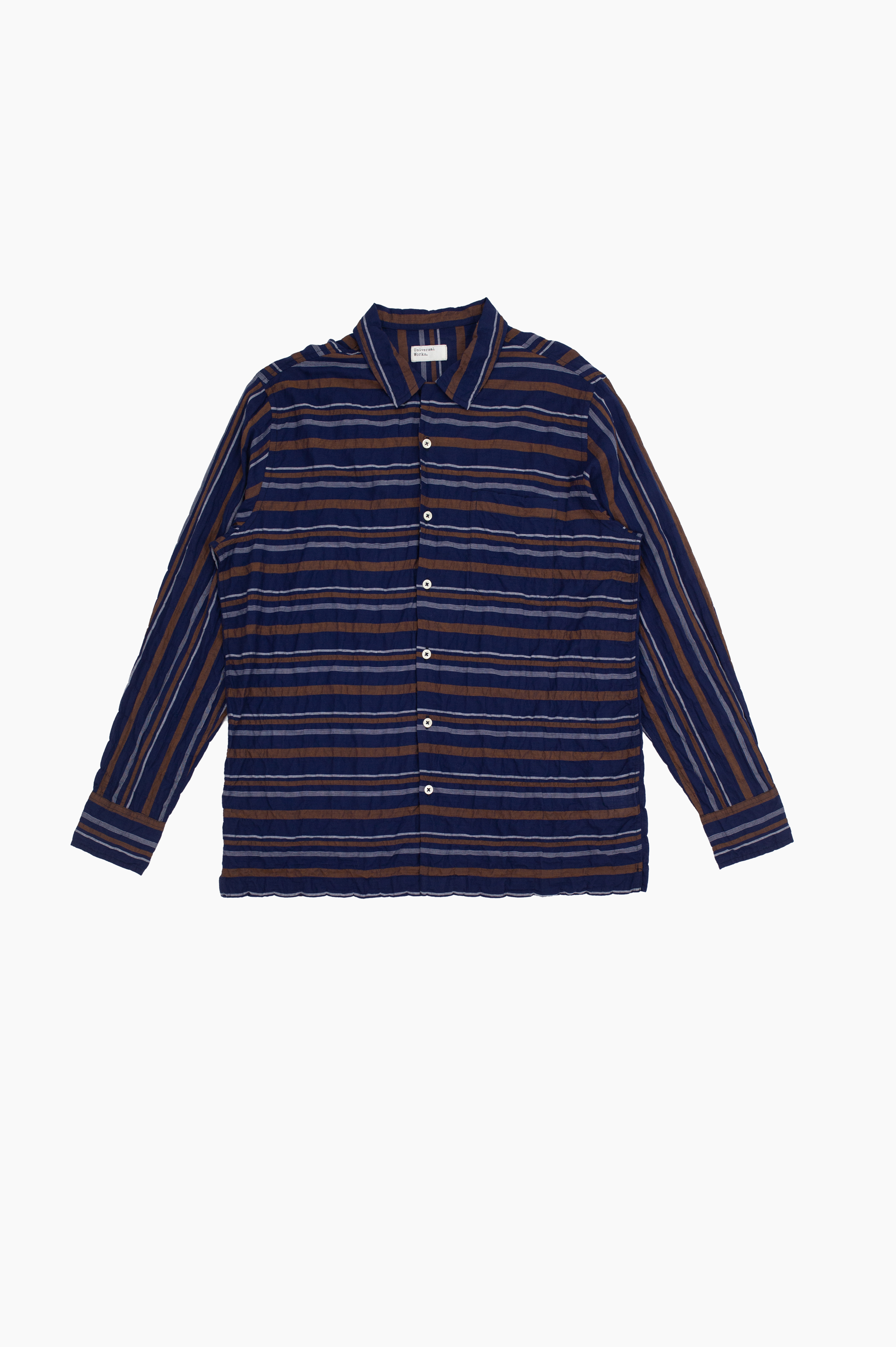 Garage Shirt Navy Acapulco Stripes