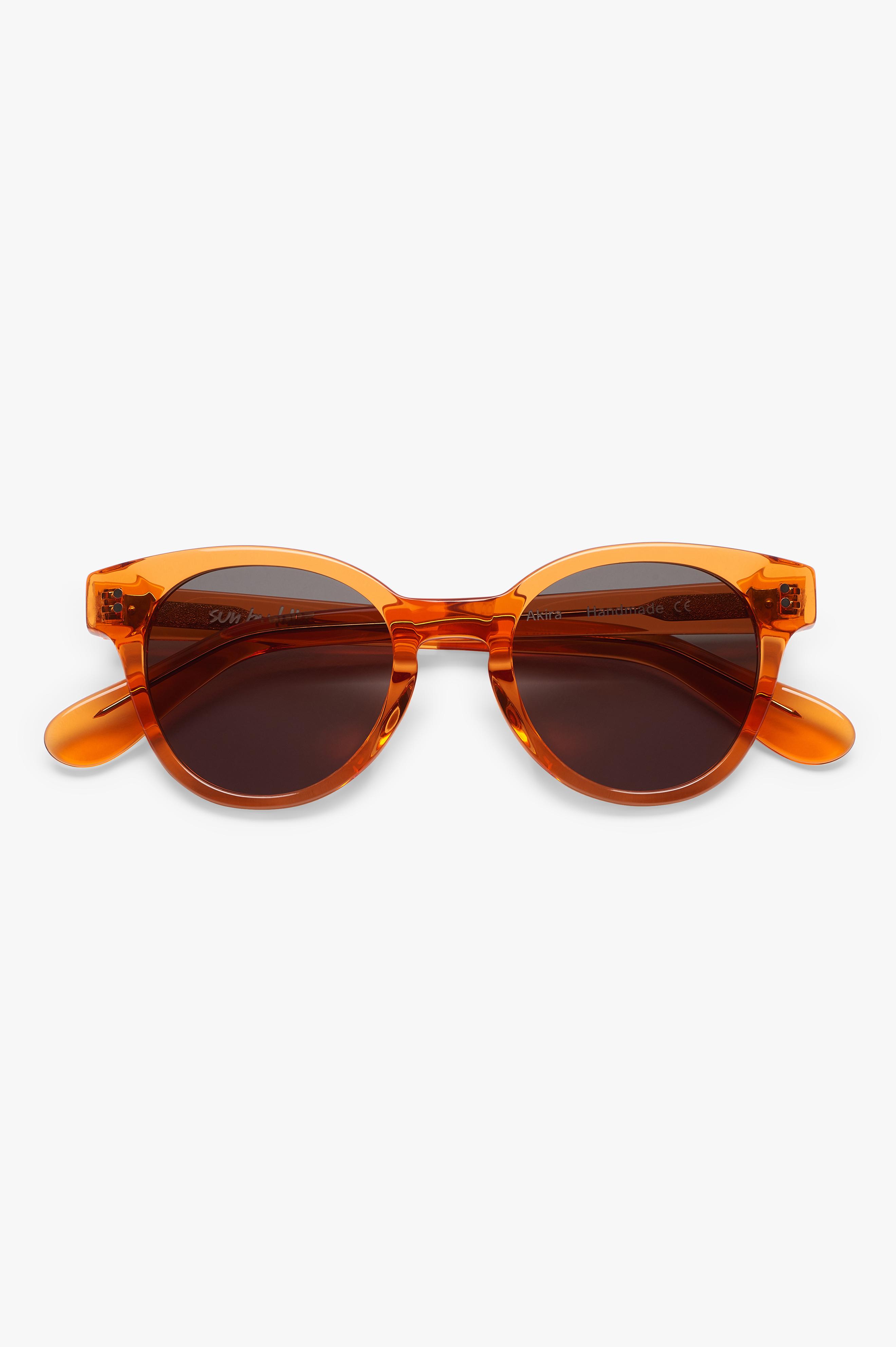 Akira Sunglasses Maple Syrup