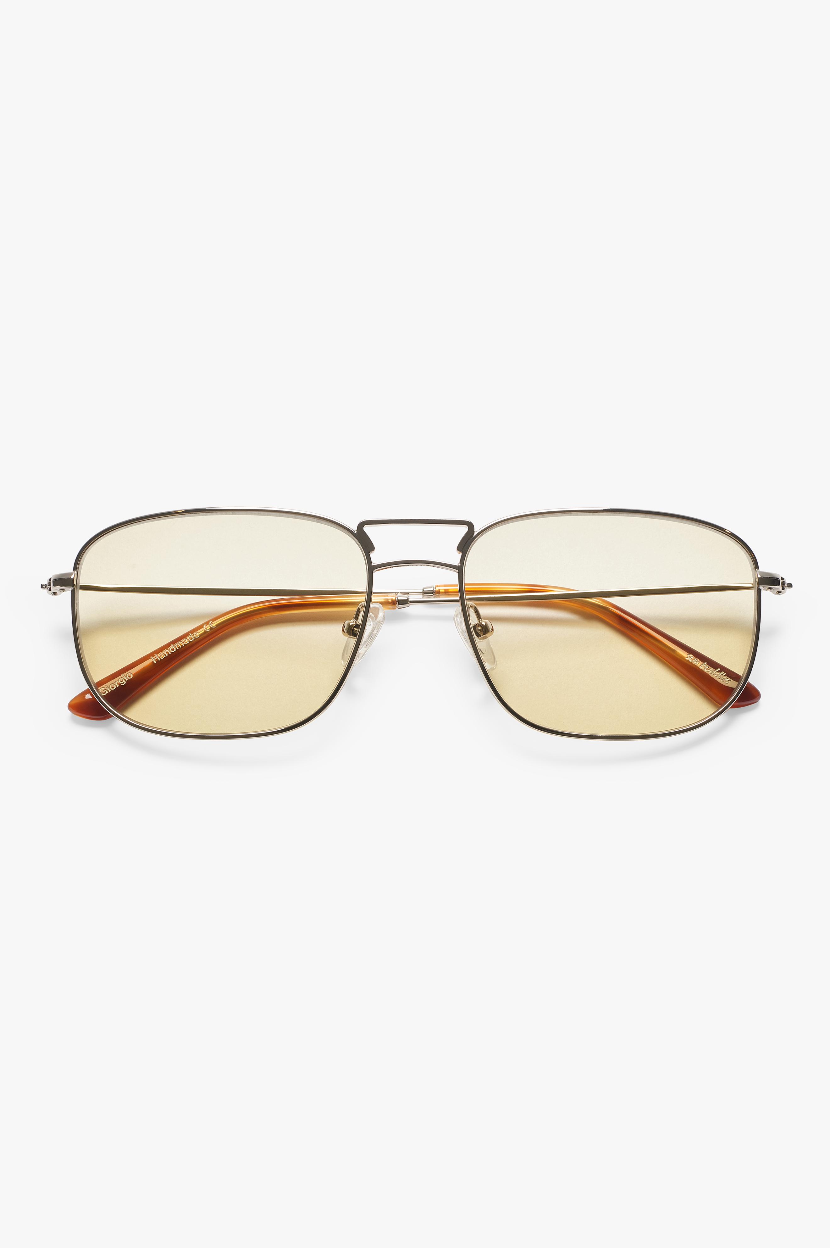 Giorgio Sunglasses Silver/Brown Smoke
