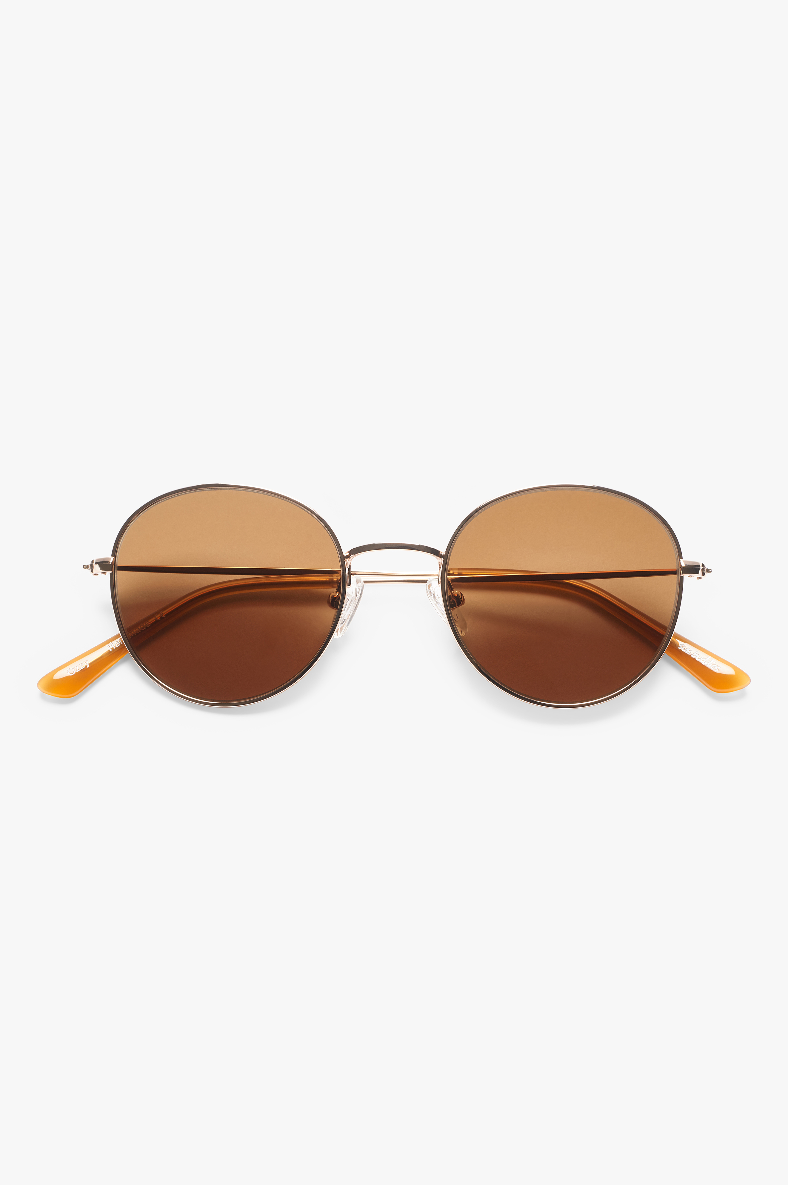 Ozzy Sunglasses Gold/Cola