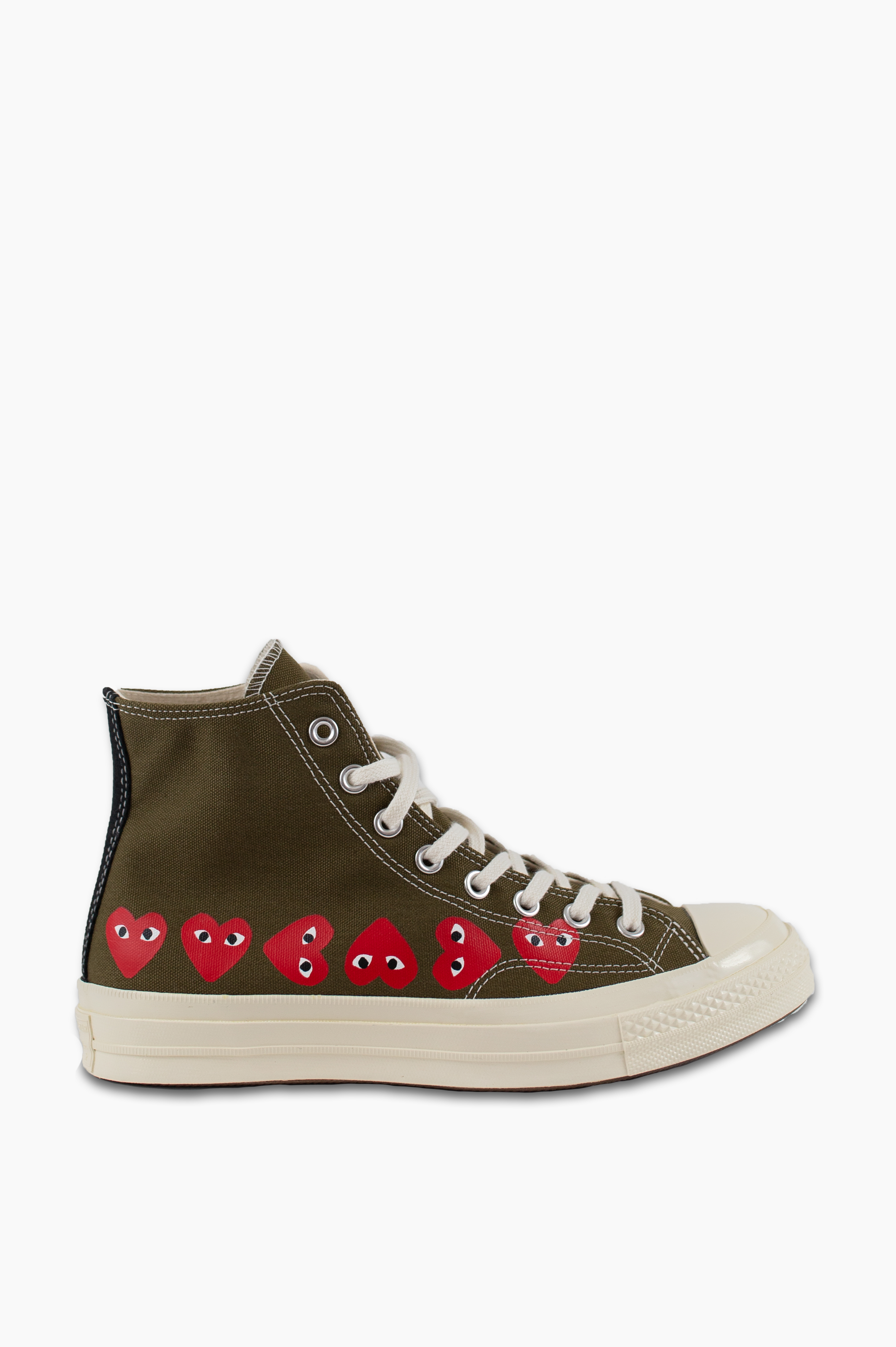 Converse Chuck Taylor All Star '70 High Khaki Multy Heart