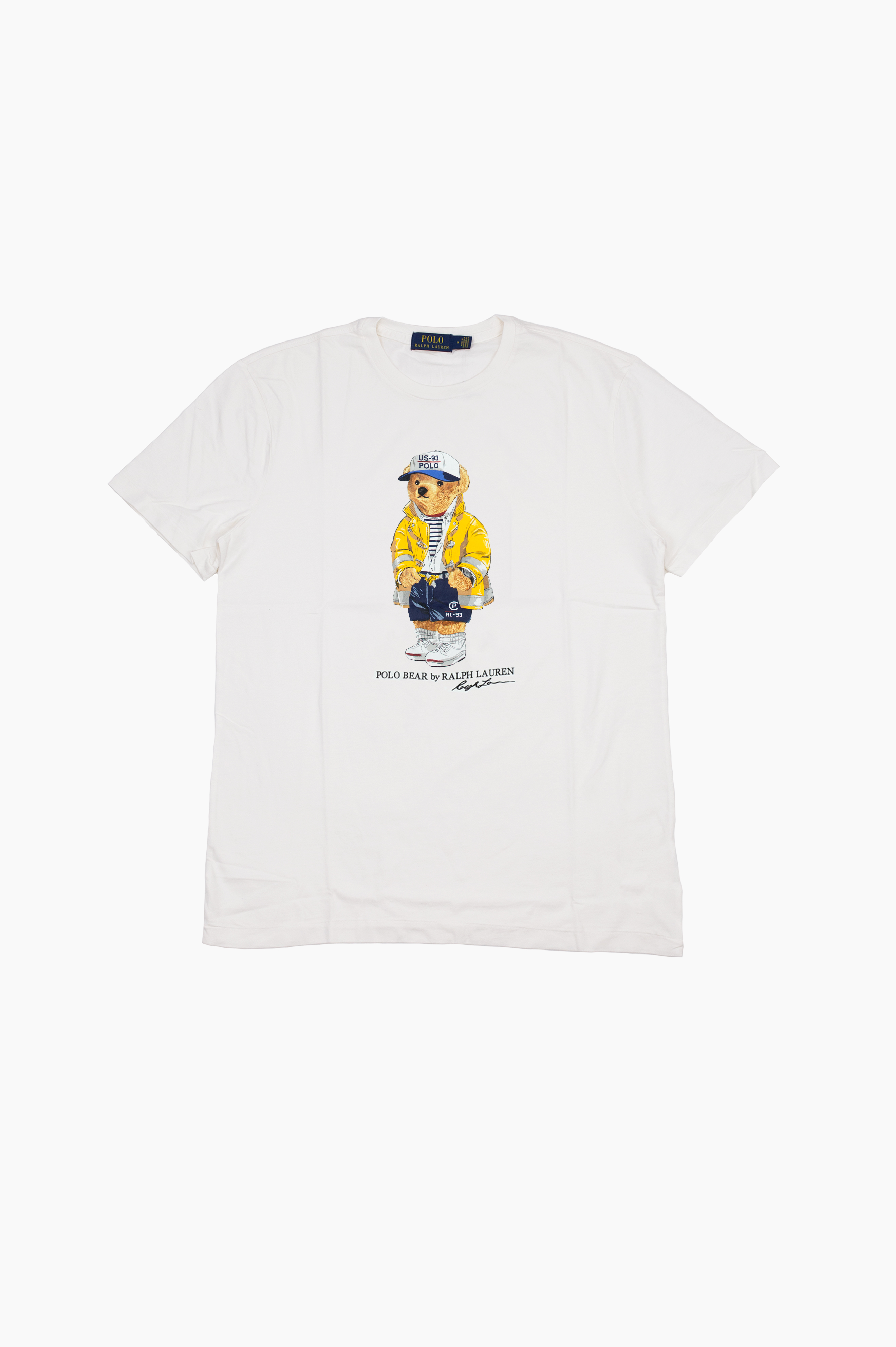 Yachting Bear T-Shirt White